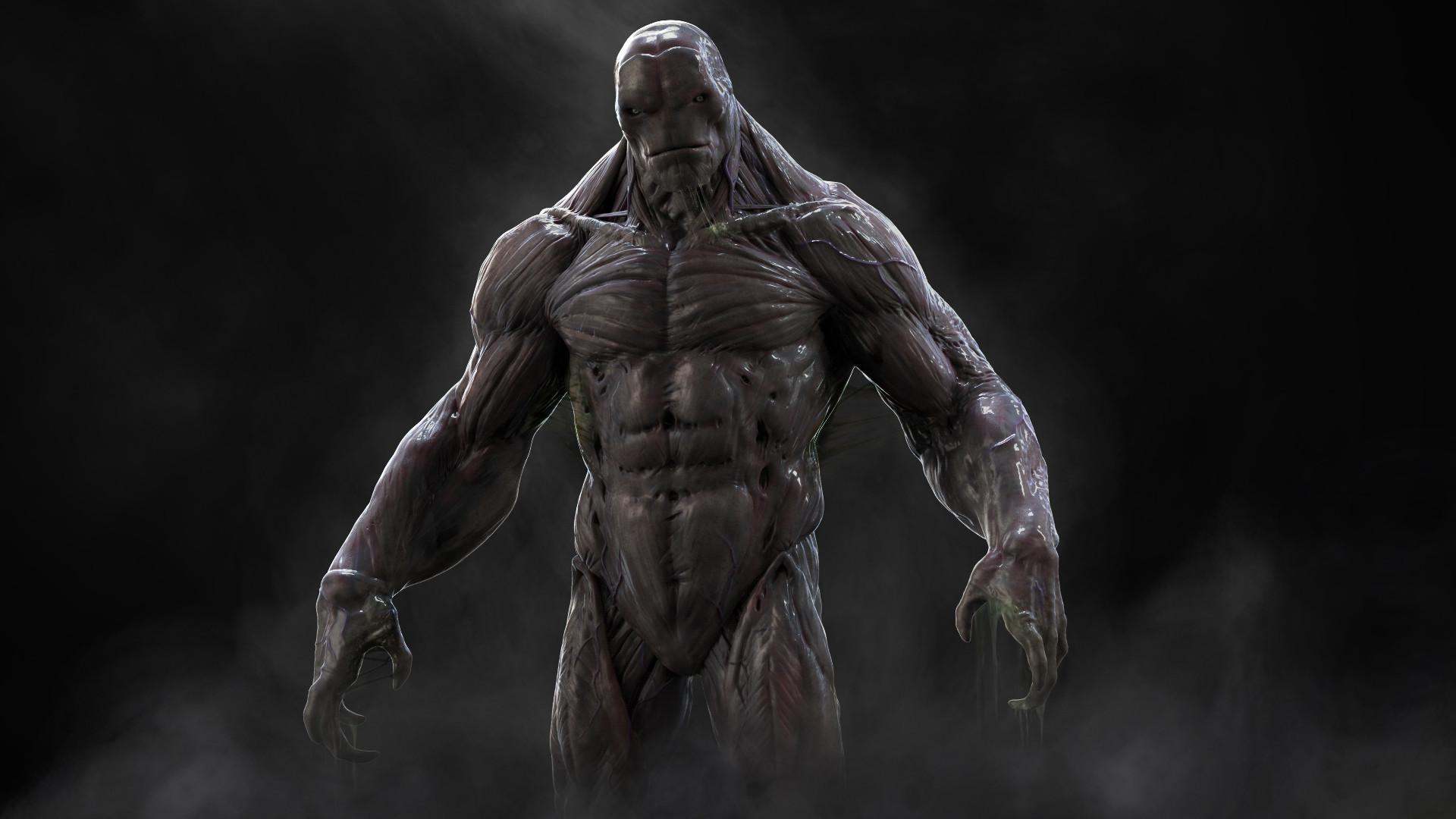 Res: 1920x1080, ... Batman v Superman Concept Art of Doomsday And Gotham City