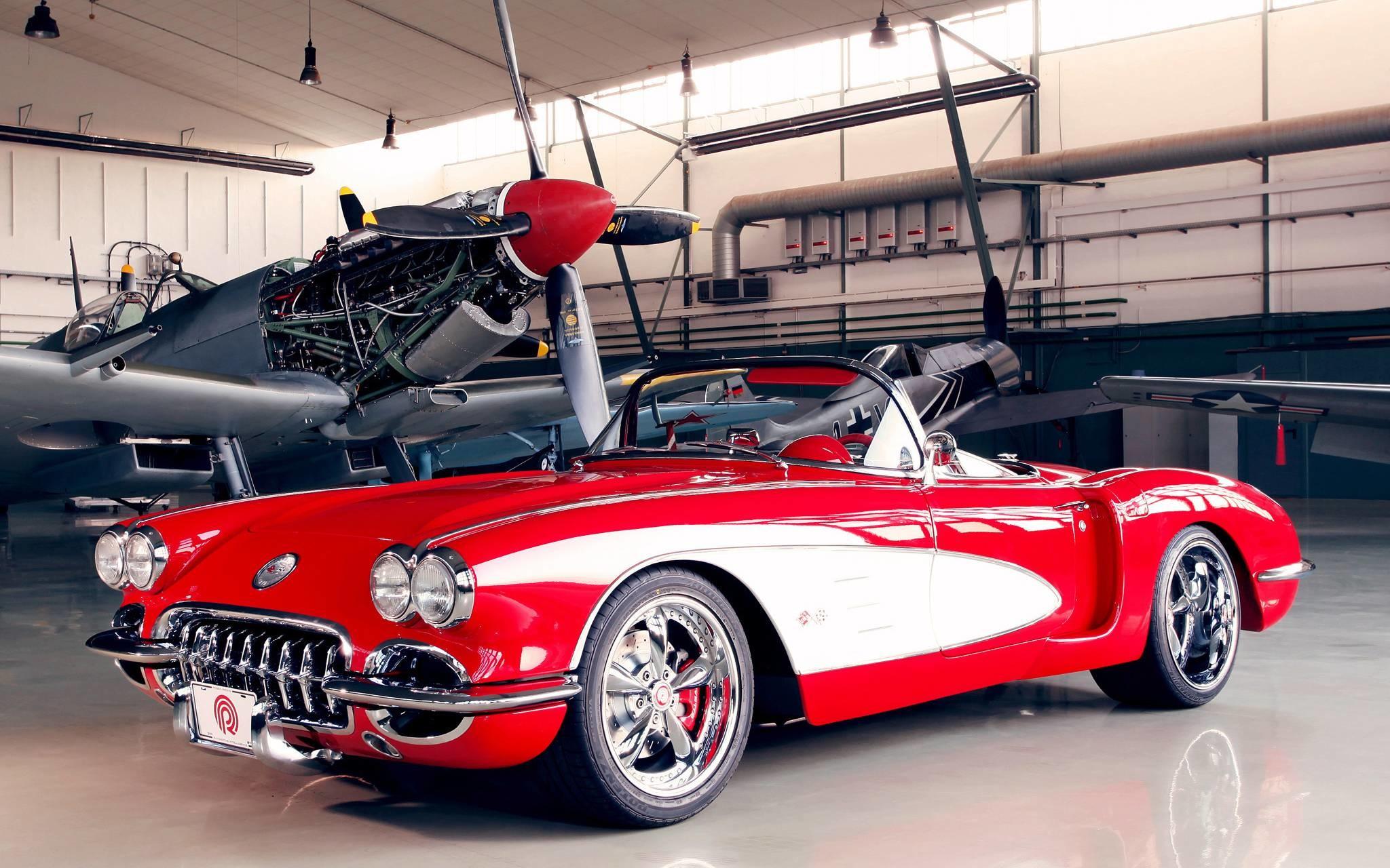 Res: 2048x1280, Classic Car Wallpaper