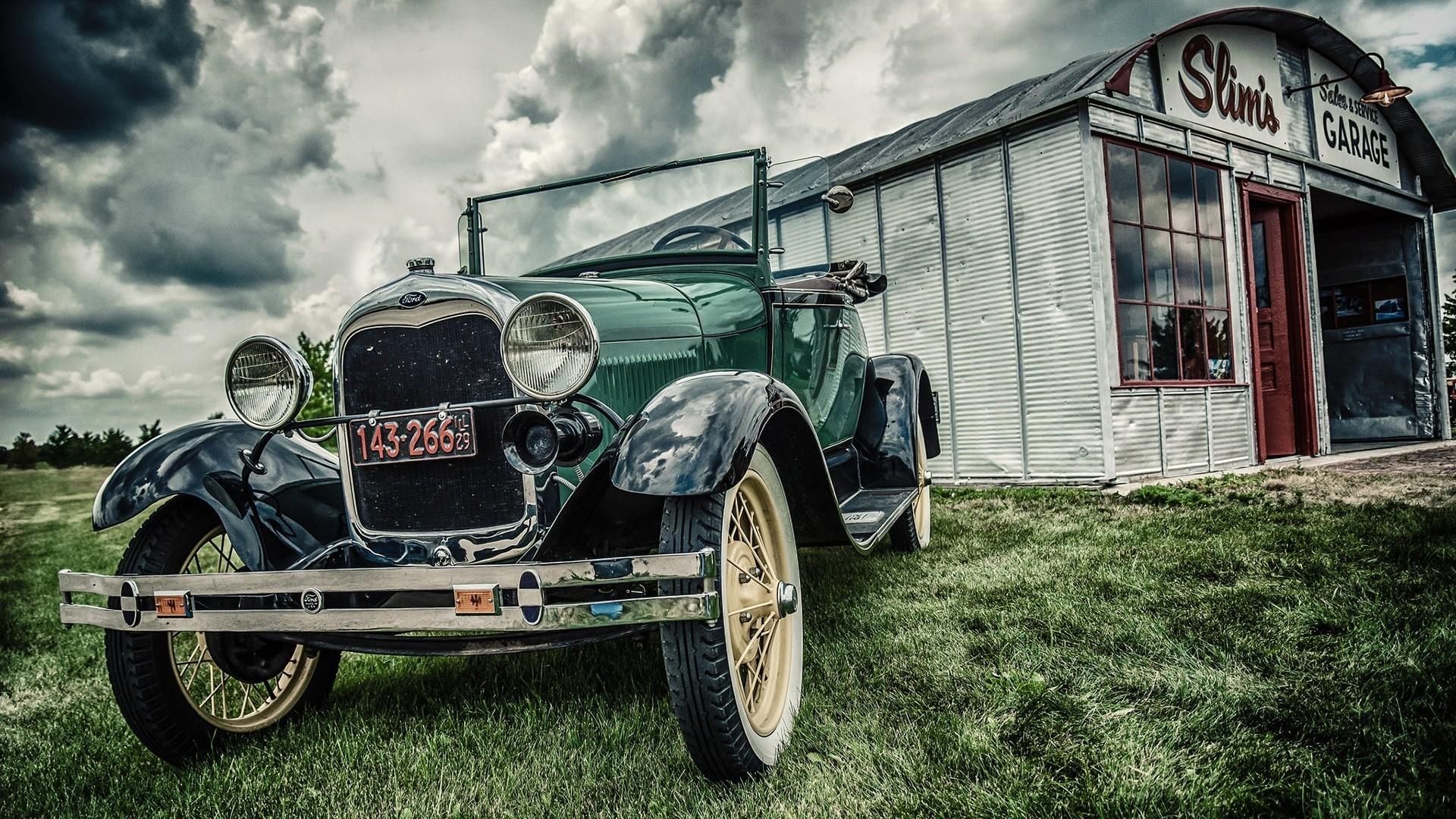 Res: 1920x1080, Vintage Cars Desktop Background