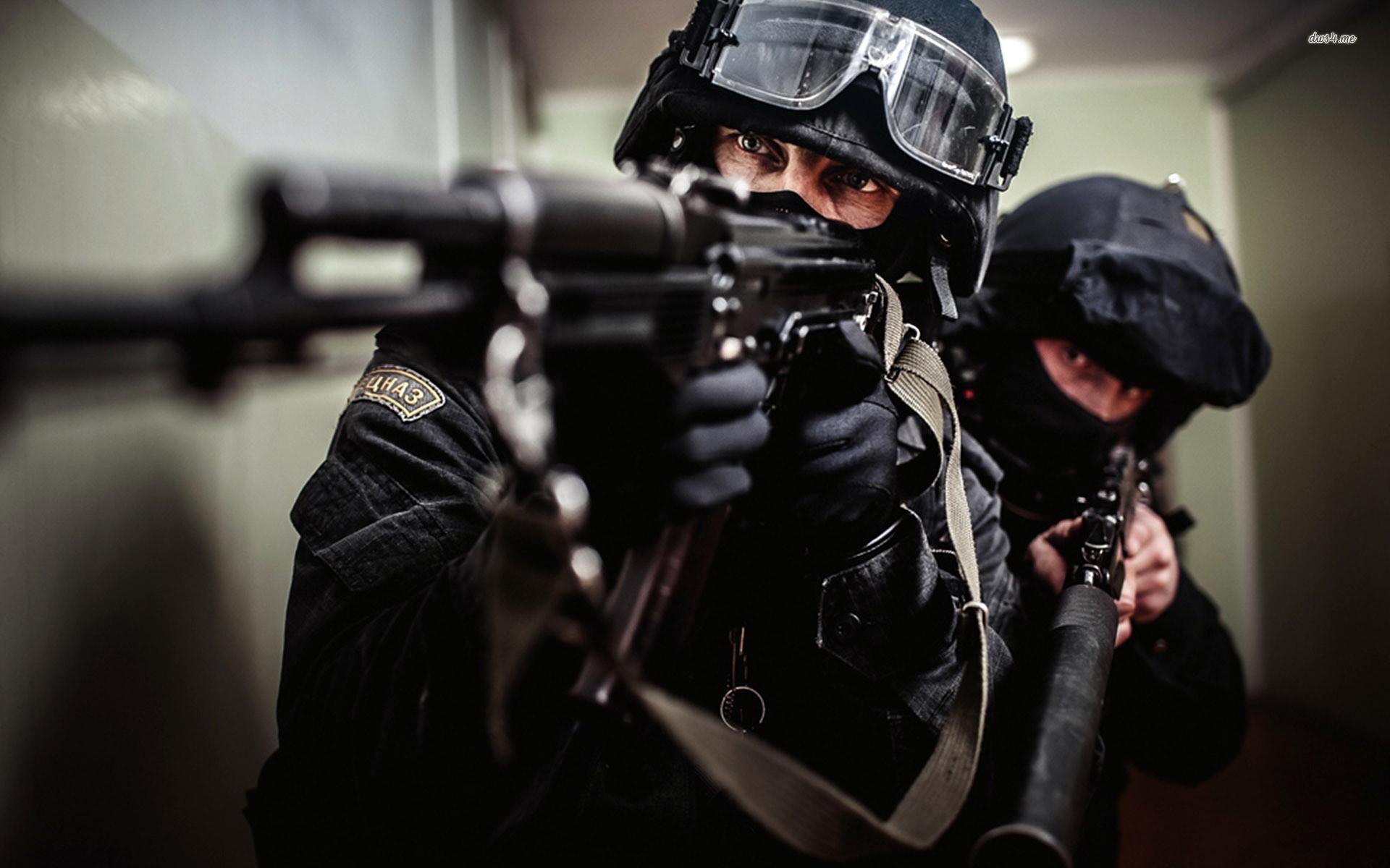 Res: 1920x1200, ... SWAT team wallpaper  ...
