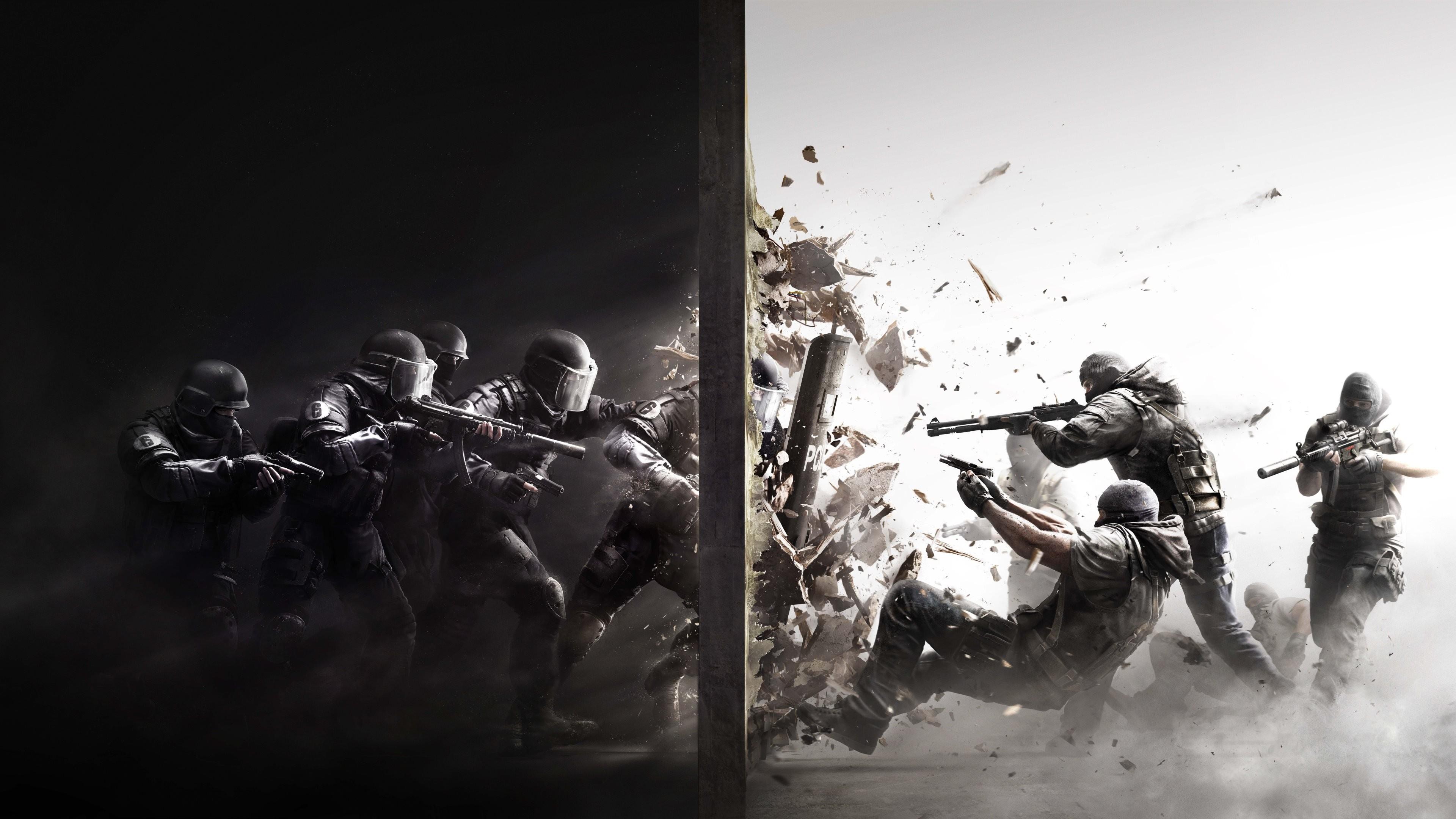 Res: 3840x2160, #Rainbow Six, #video games, #Rainbow Six: Siege, wallpaper