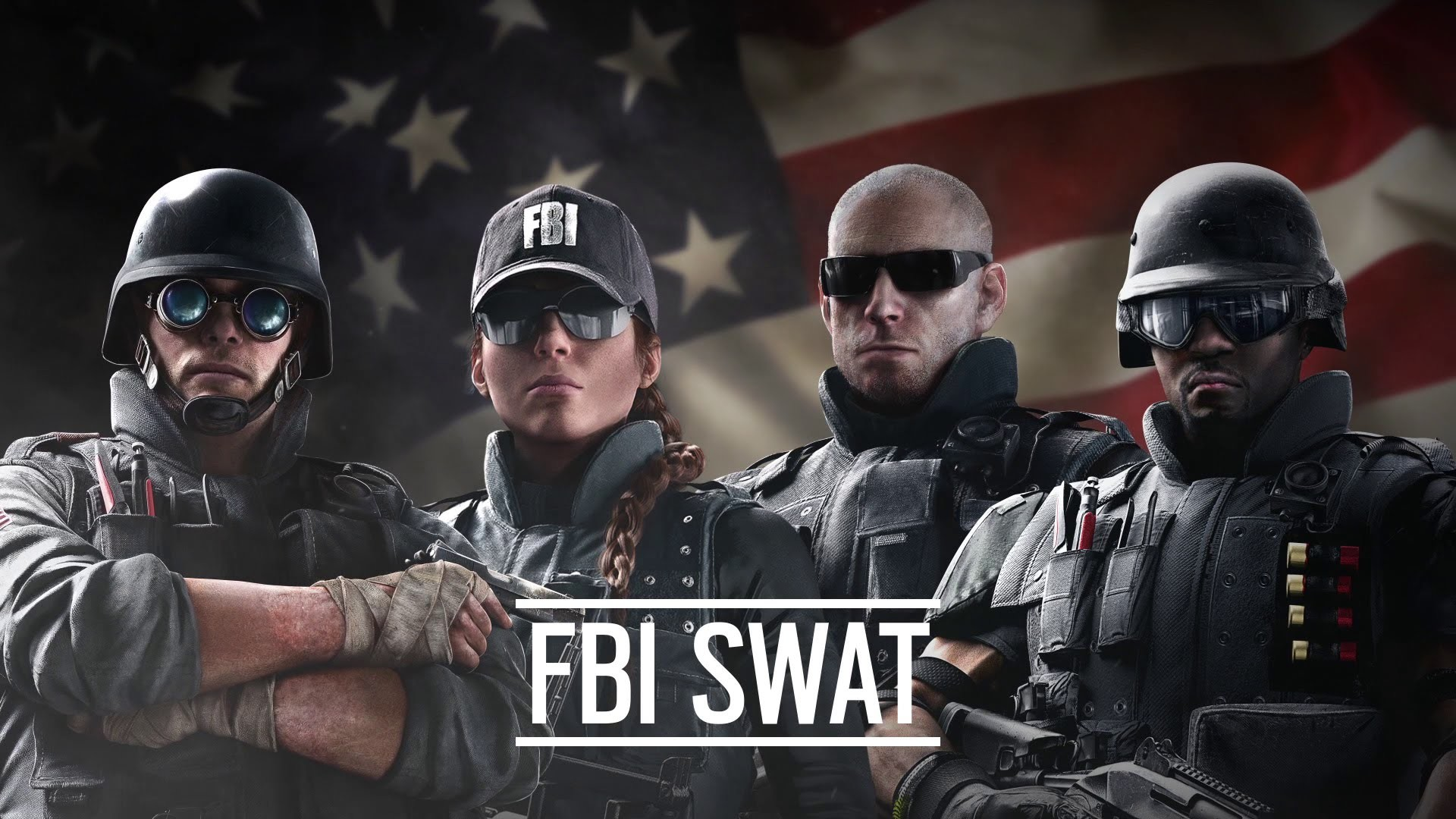 Res: 1920x1080, Rainbow Six Siege FBI SWAT