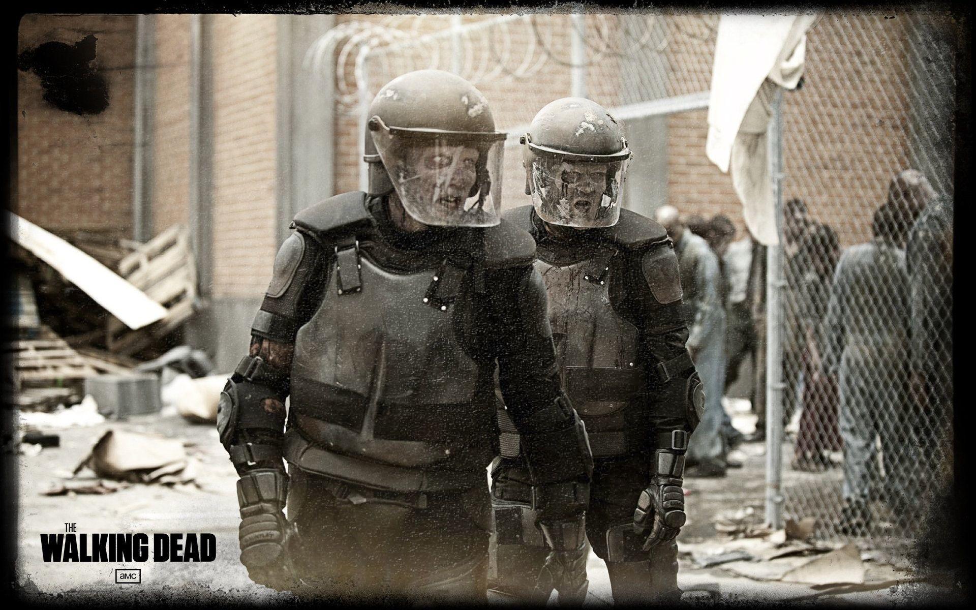 Res: 1920x1200, Zombie Swat Team - Best Walking Dead Wallpapers