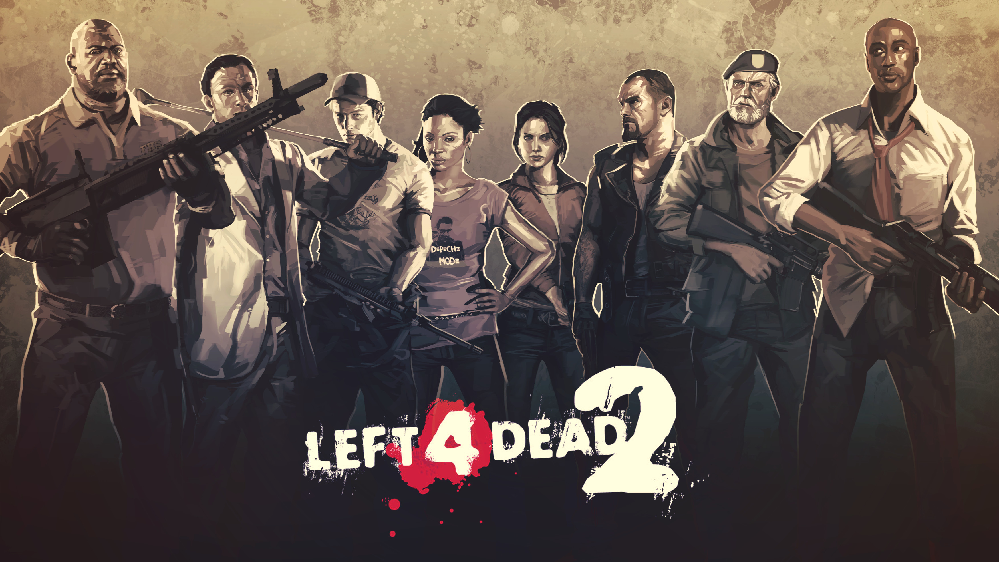 Res: 3500x1969, Left 4 Dead 2 HD Wallpapers
