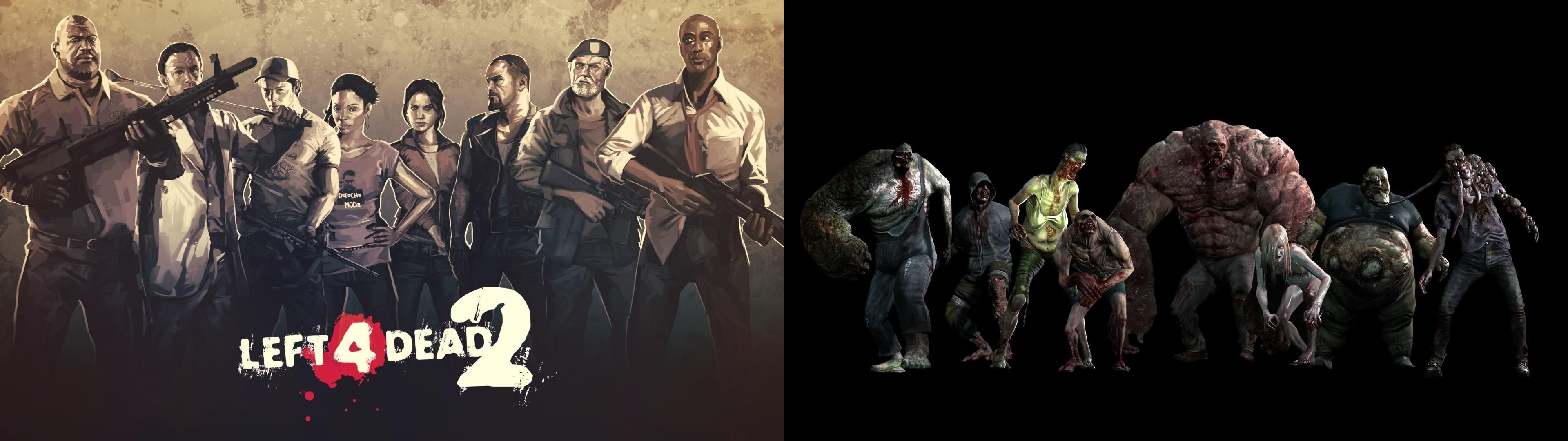 Res: 3840x1080, Left 4 Dead 2 Wallpapers, Left 4 Dead 2 Backgrounds for PC 100