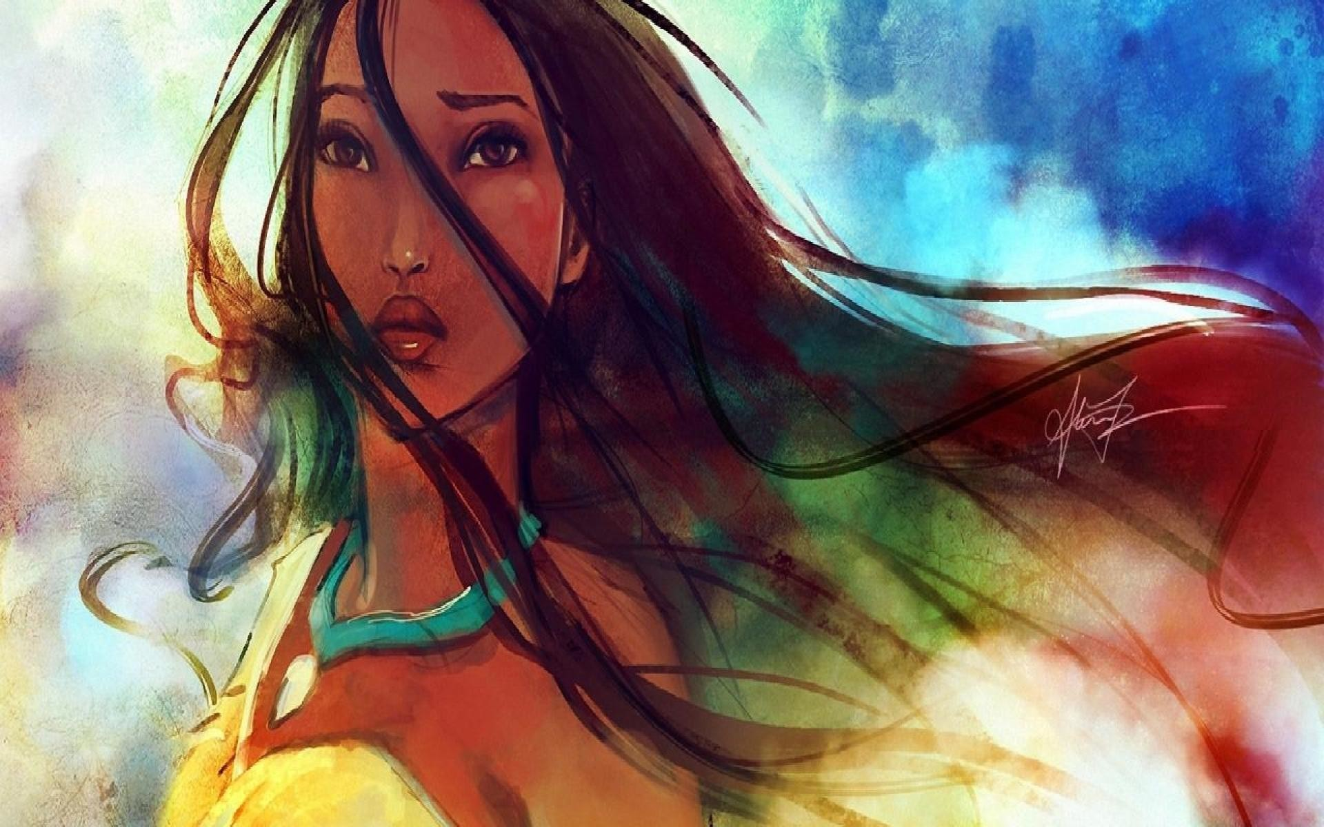 Res: 1920x1200, Pocahontas Background