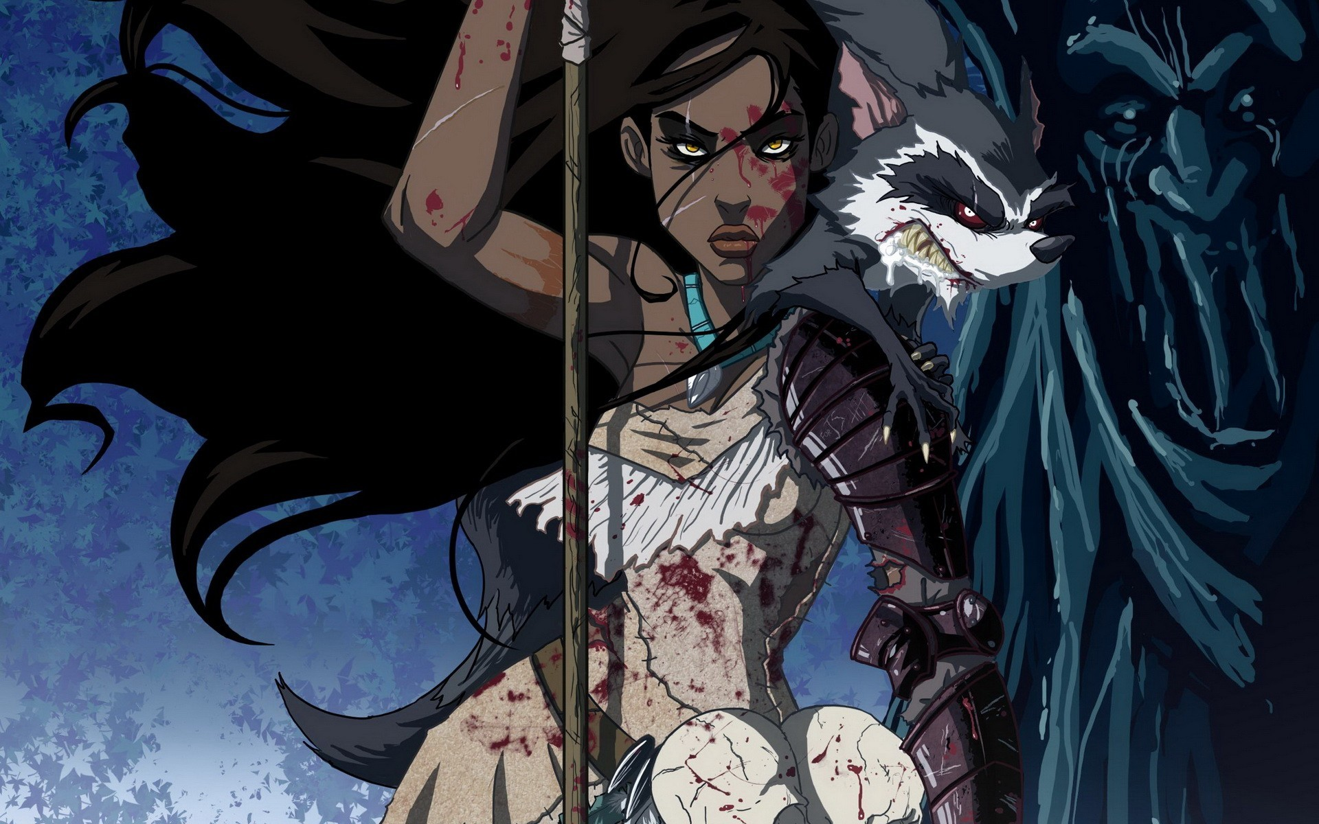 Res: 1920x1200, wallpaper dark · Pocahontas