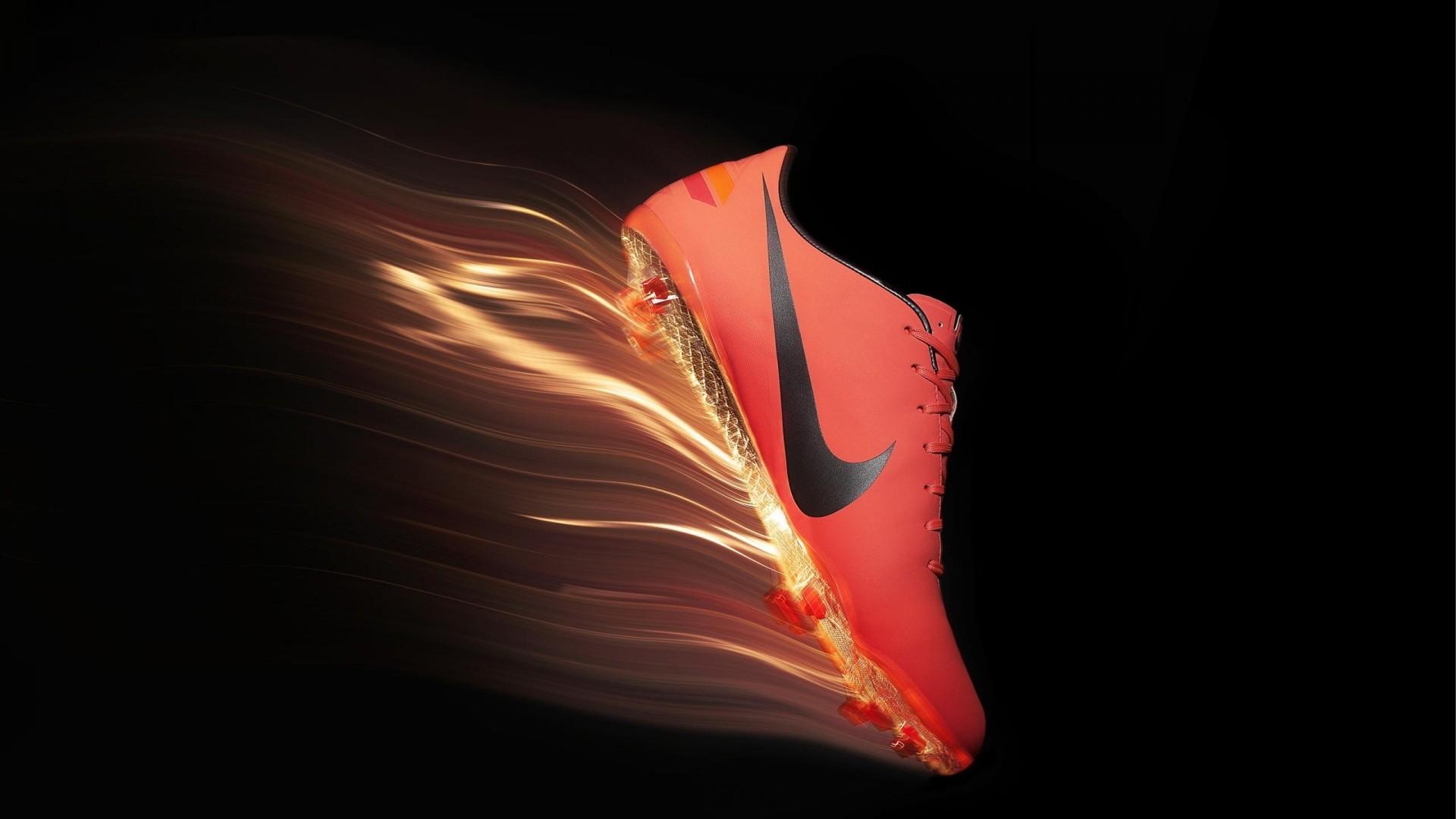 Res: 1920x1080, Red Nike Football Shoes Wallpaper Desktop Wallpaper