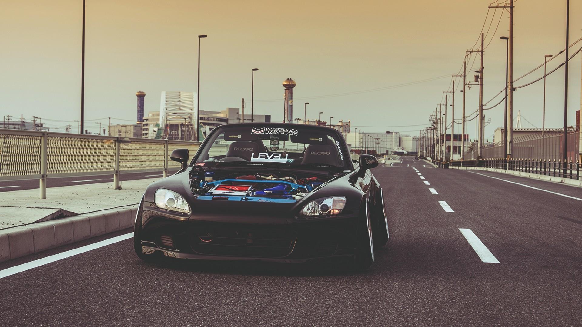 Res: 1920x1080,  cars roads Honda S2000 Wallpapers