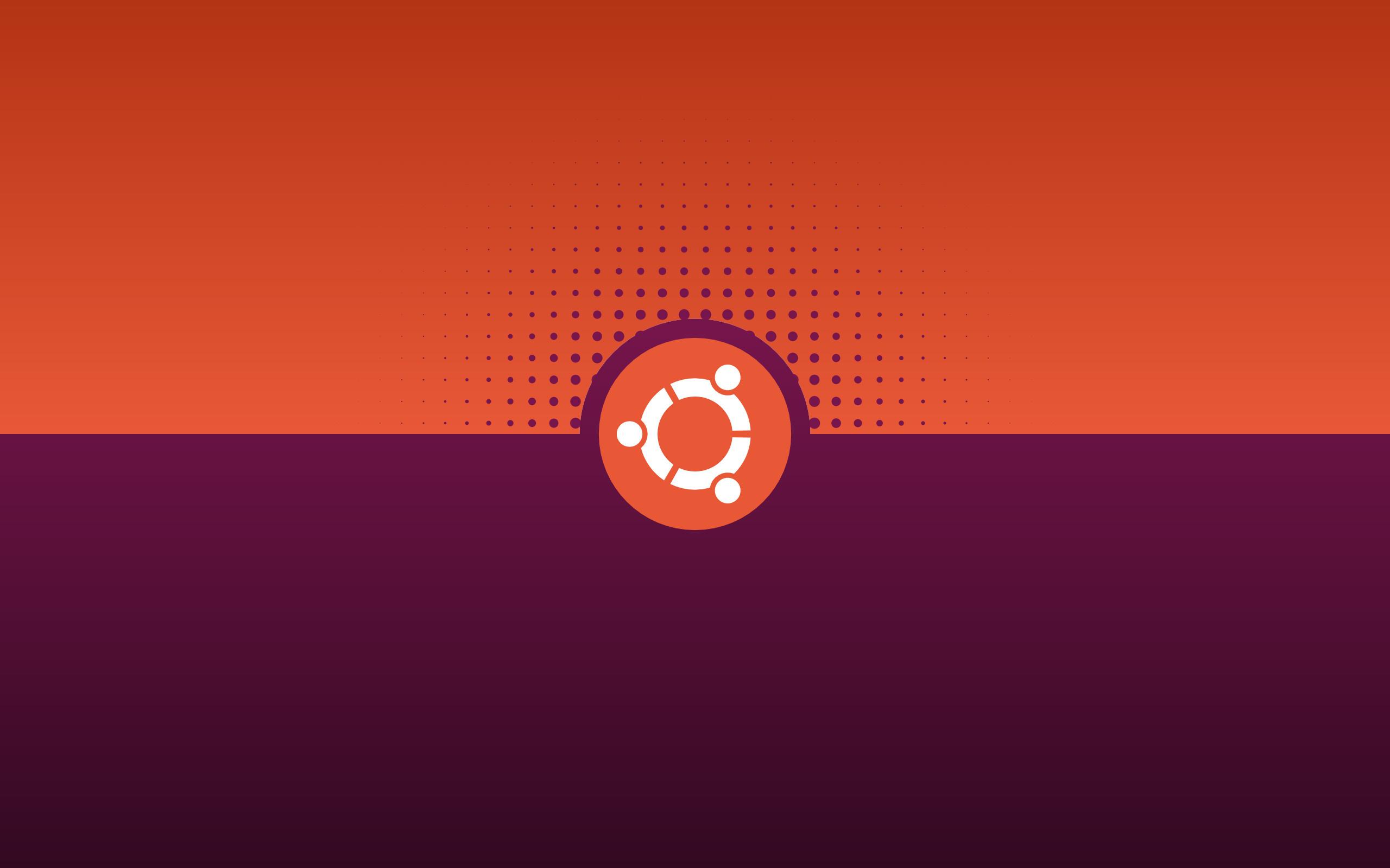 Res: 2560x1600, Simple Ubuntu Wallpaper