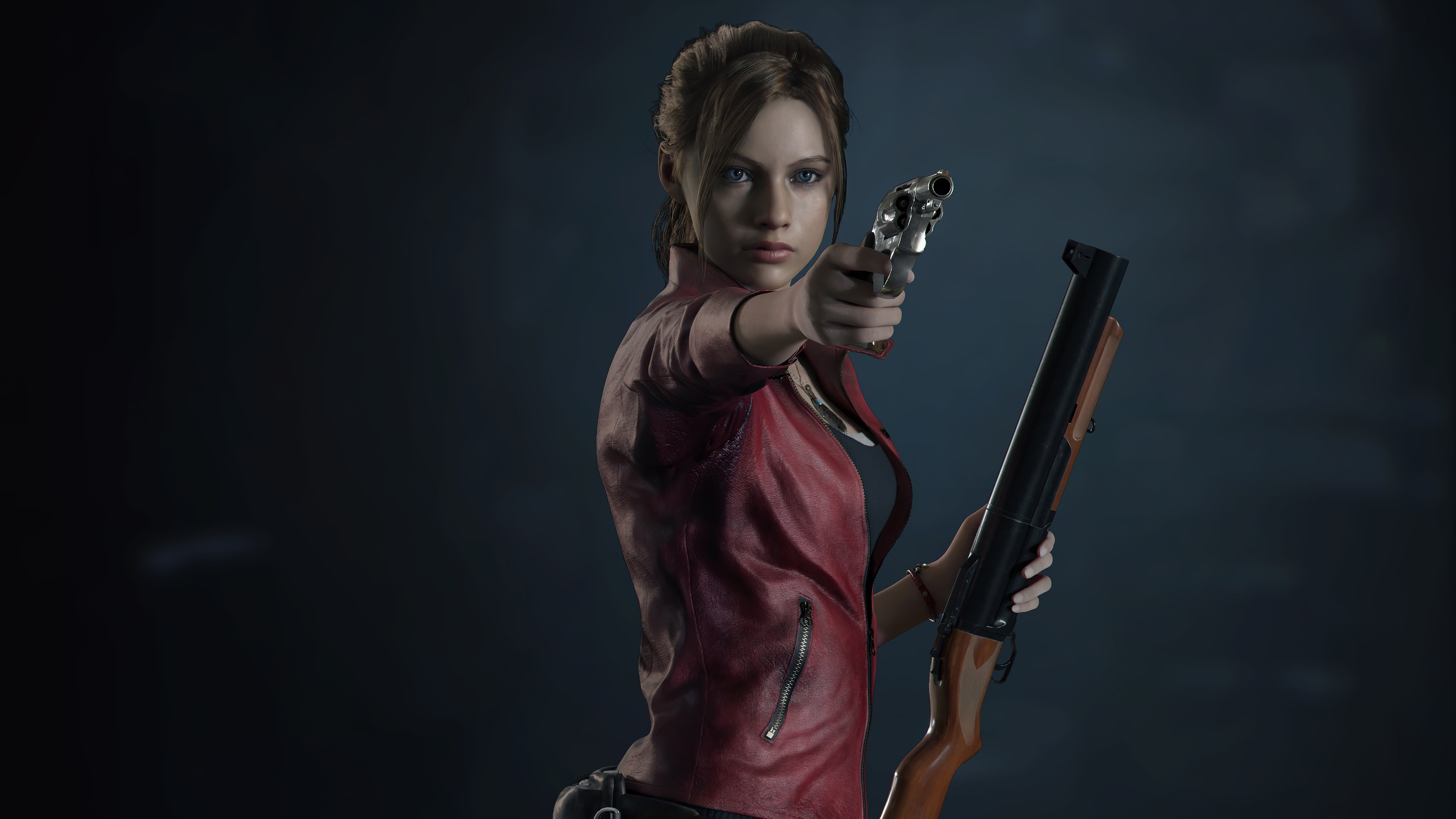 Res: 3840x2160, Resident Evil 2 (2019) Claire Redfield 4k Ultra HD Wallpaper | Hintergrund  |  | ID:984036 - Wallpaper Abyss