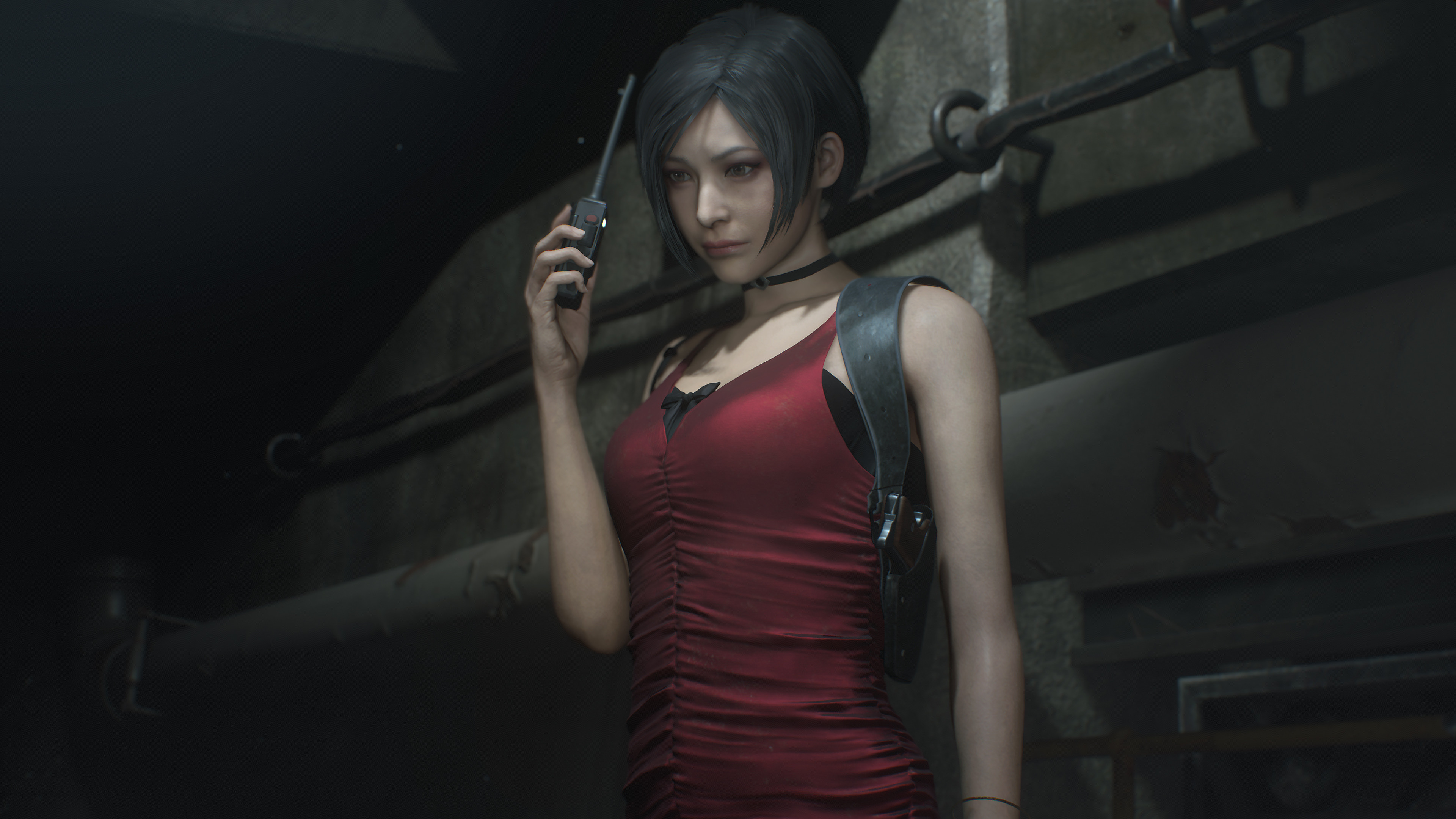 Res: 3840x2160, Claire Redfield Resident Evil 2 2019