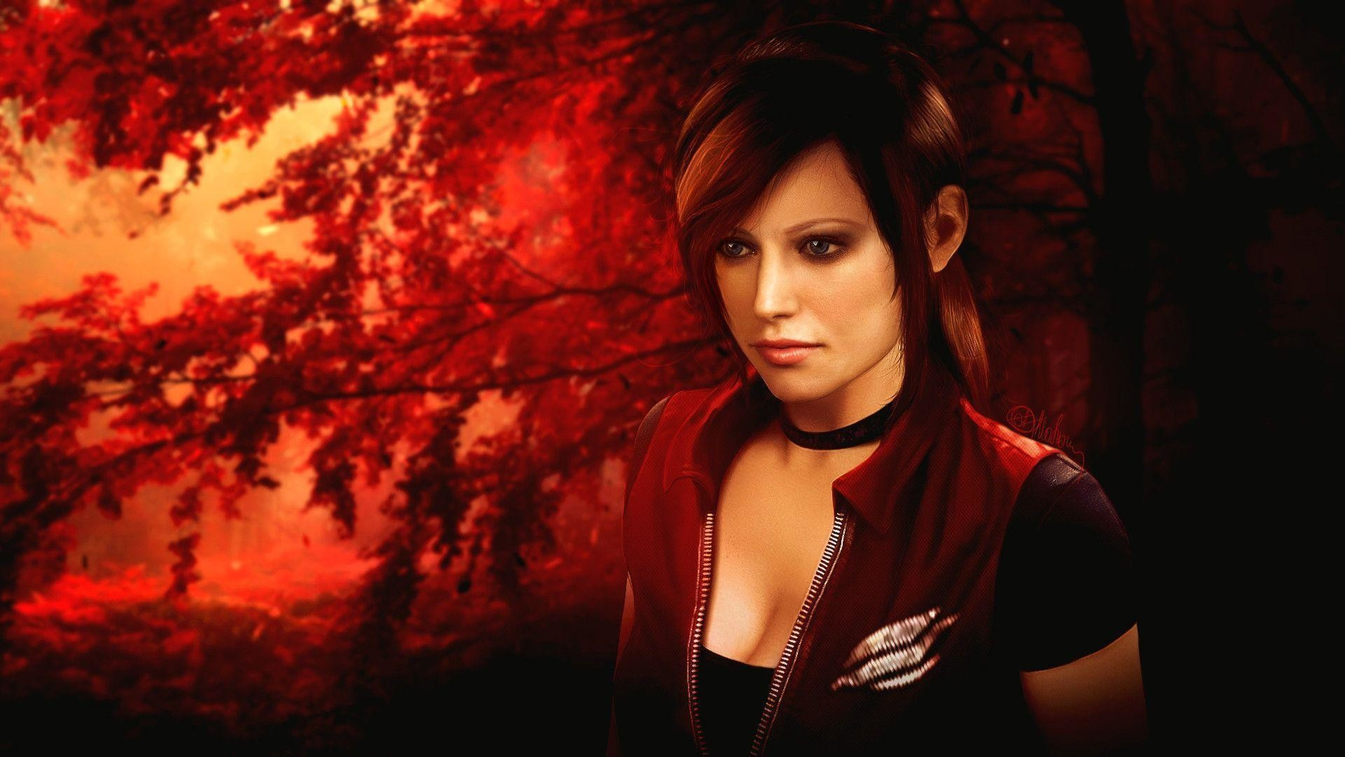 Res: 1920x1080, Claire Redfield Wallpaper