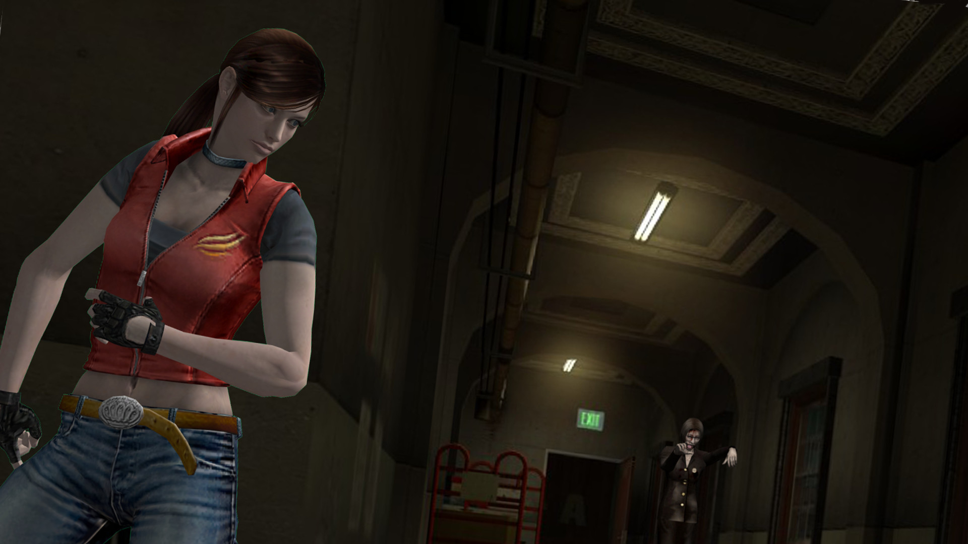 Res: 1920x1080, Resident Evil Claire Redfield Wallpaper