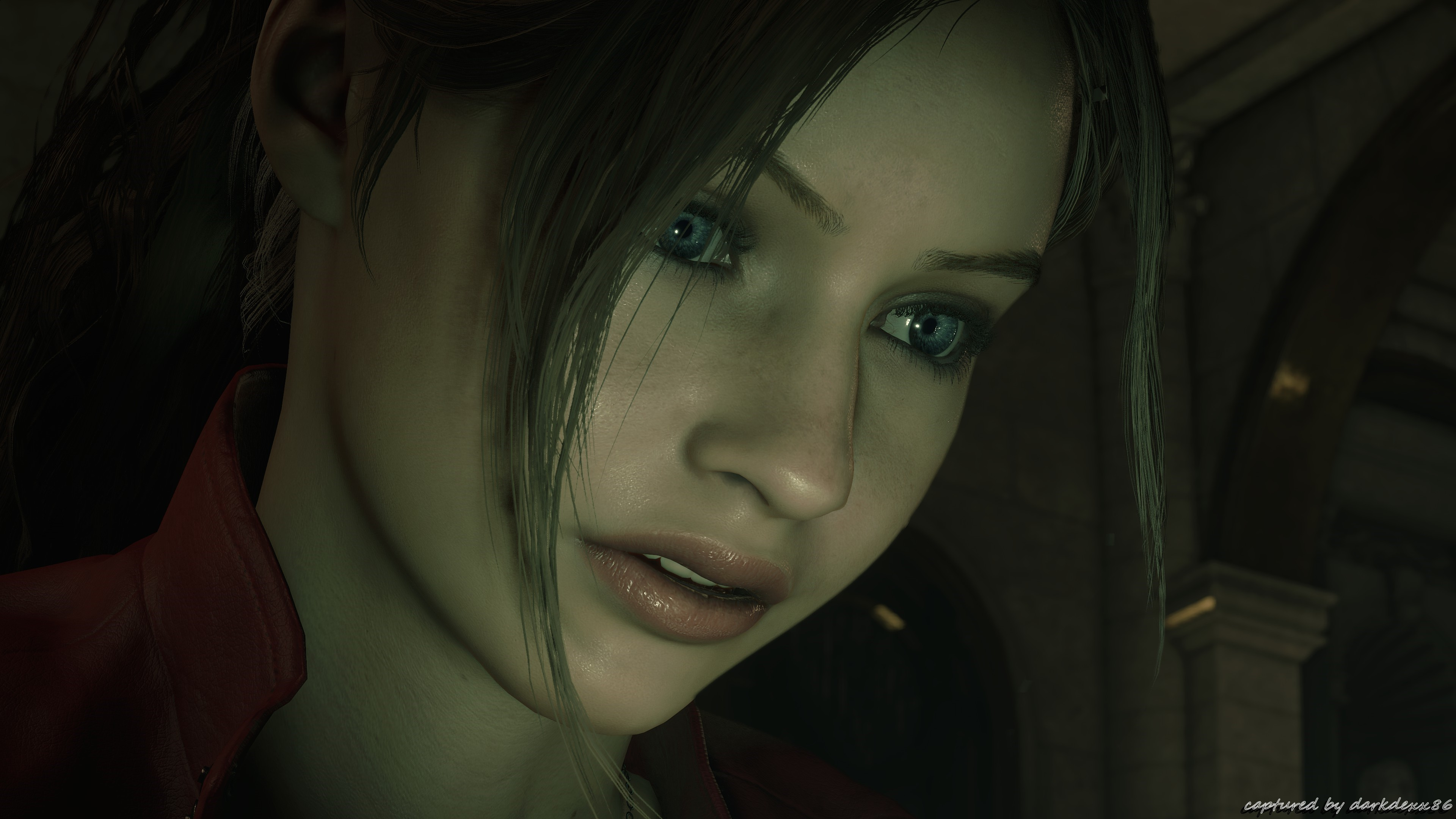 Res: 3840x2160, Resident Evil 2 Biohazard 4K pic005 * Claire Redfield * Max Details and  Shadows * 4K