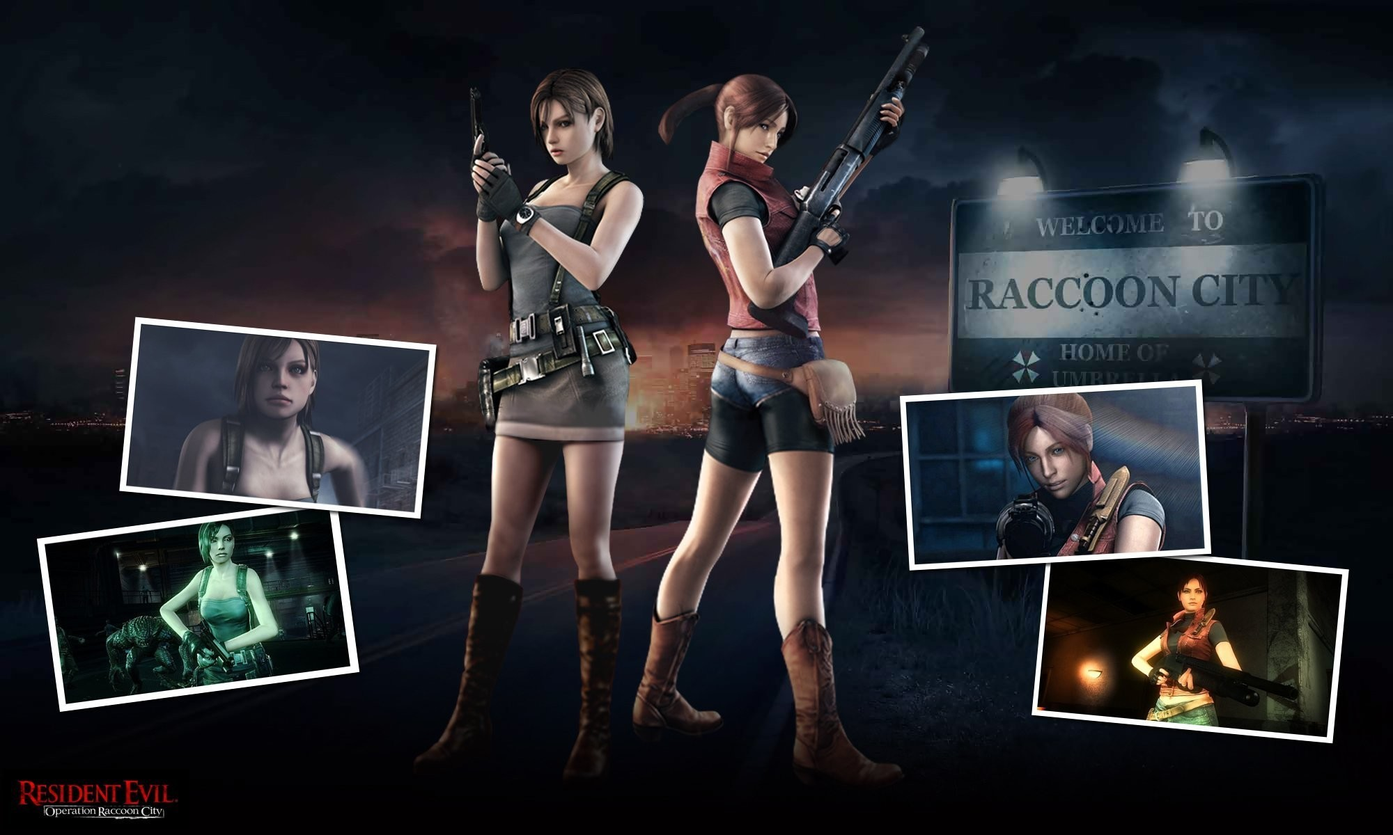 Res: 2000x1200, 1920x1080 claire redfield resident evil 2 resident evil leon s_ kennedy  video games wallpaper and background