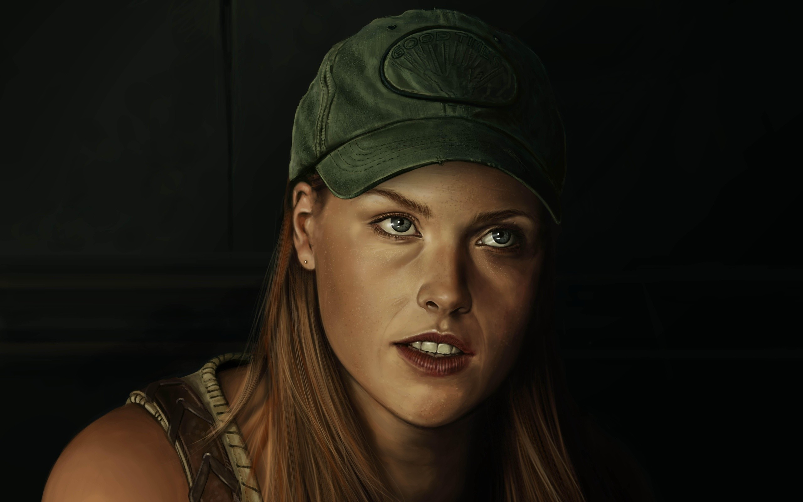 Res: 2560x1600, Resident Evil, Painting Art, Painting Pictures, Claire Redfield Ali Larter  Ali Larter Resident