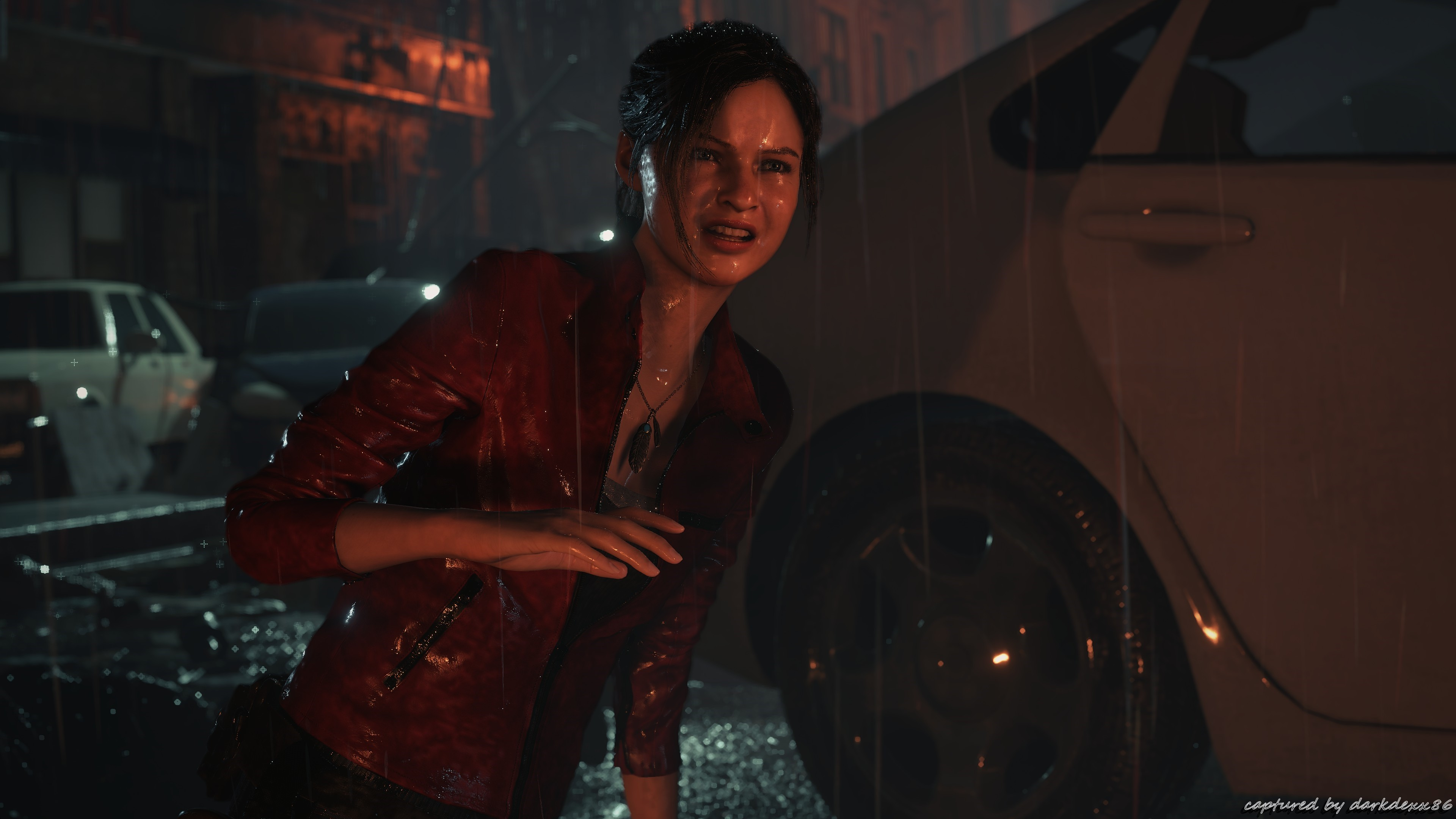 Res: 3840x2160, Resident Evil 2 Biohazard 4K pic004 * Claire Redfield * Max Details and  Shadows * 4K