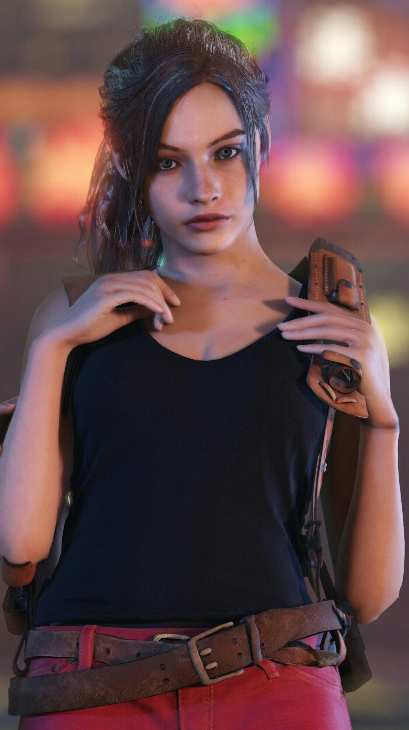 Res: 1343x2400, Claire Redfield wallpaper