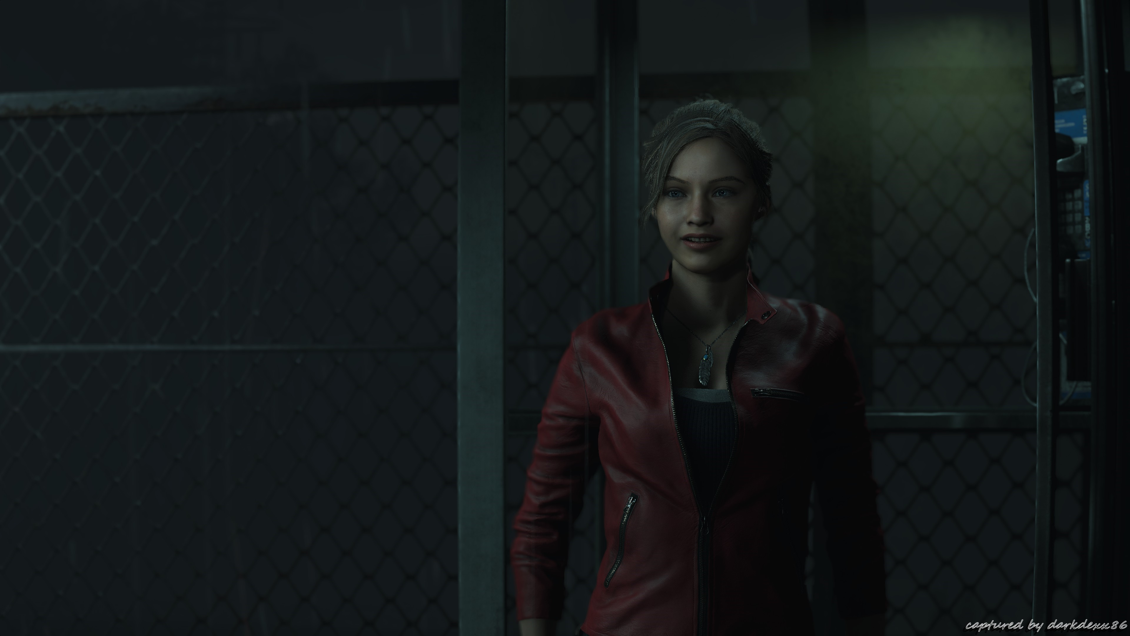 Res: 3840x2160, Resident Evil 2 Biohazard 4K pic002 * Claire Redfield * Max Details and  Shadows * 4K