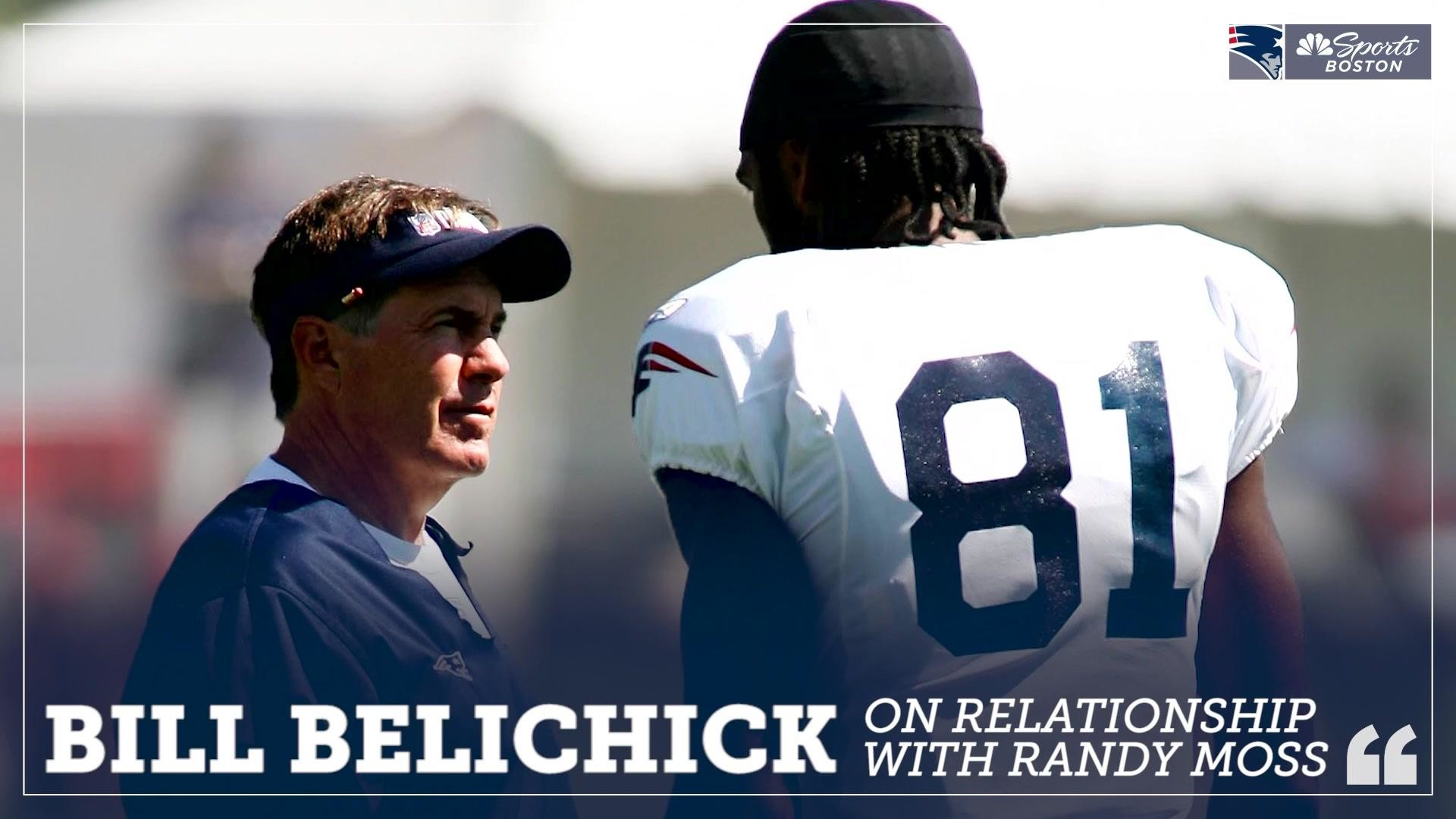 Res: 1920x1080, Bill Belichick: Relationship with Randy Moss was very special | NBC Sports Boston