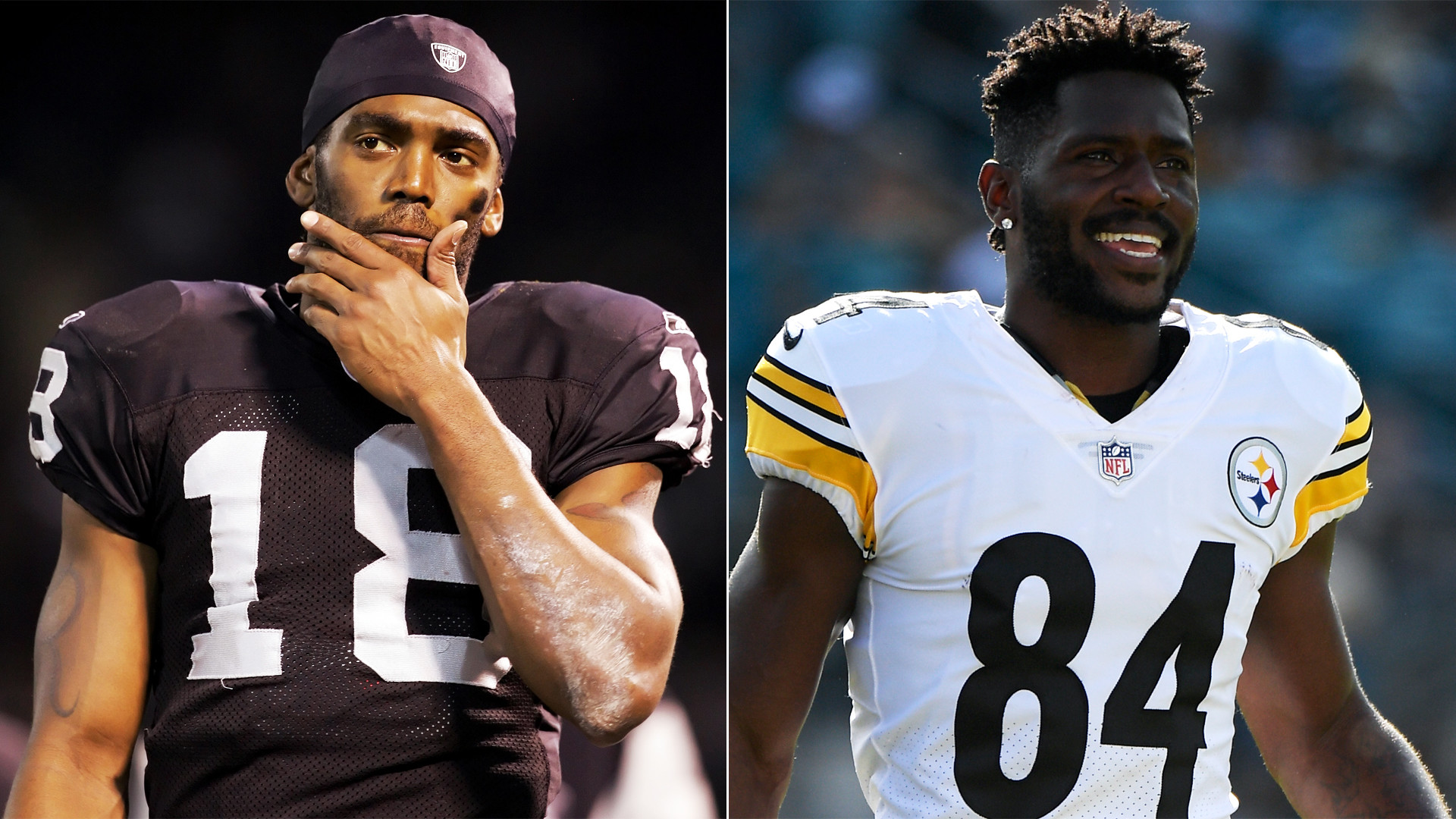 Res: 1920x1080, Randy Moss believes Antonio Brown 'hungry and determined' for Raiders   NBCS Bay Area
