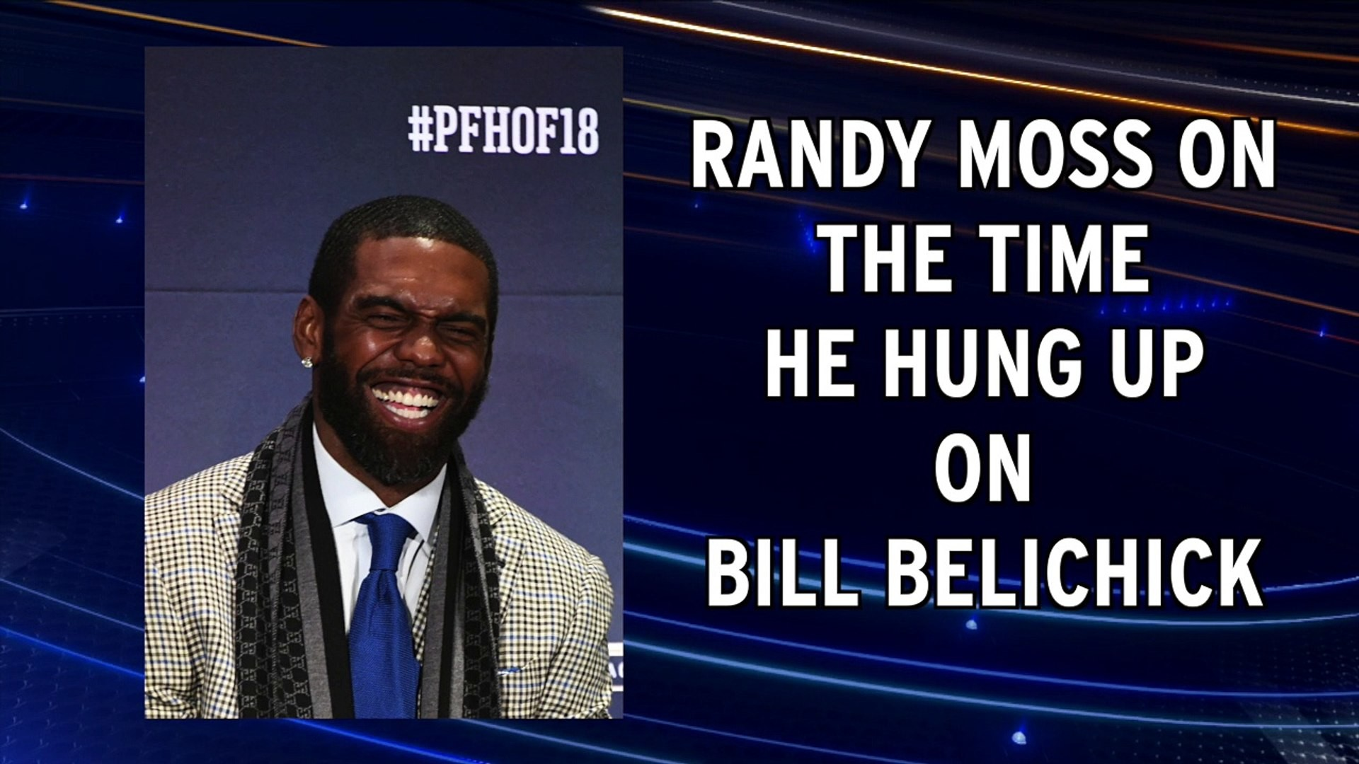 Res: 1920x1080, Randy Moss tells story about hanging up on Bill Belichick