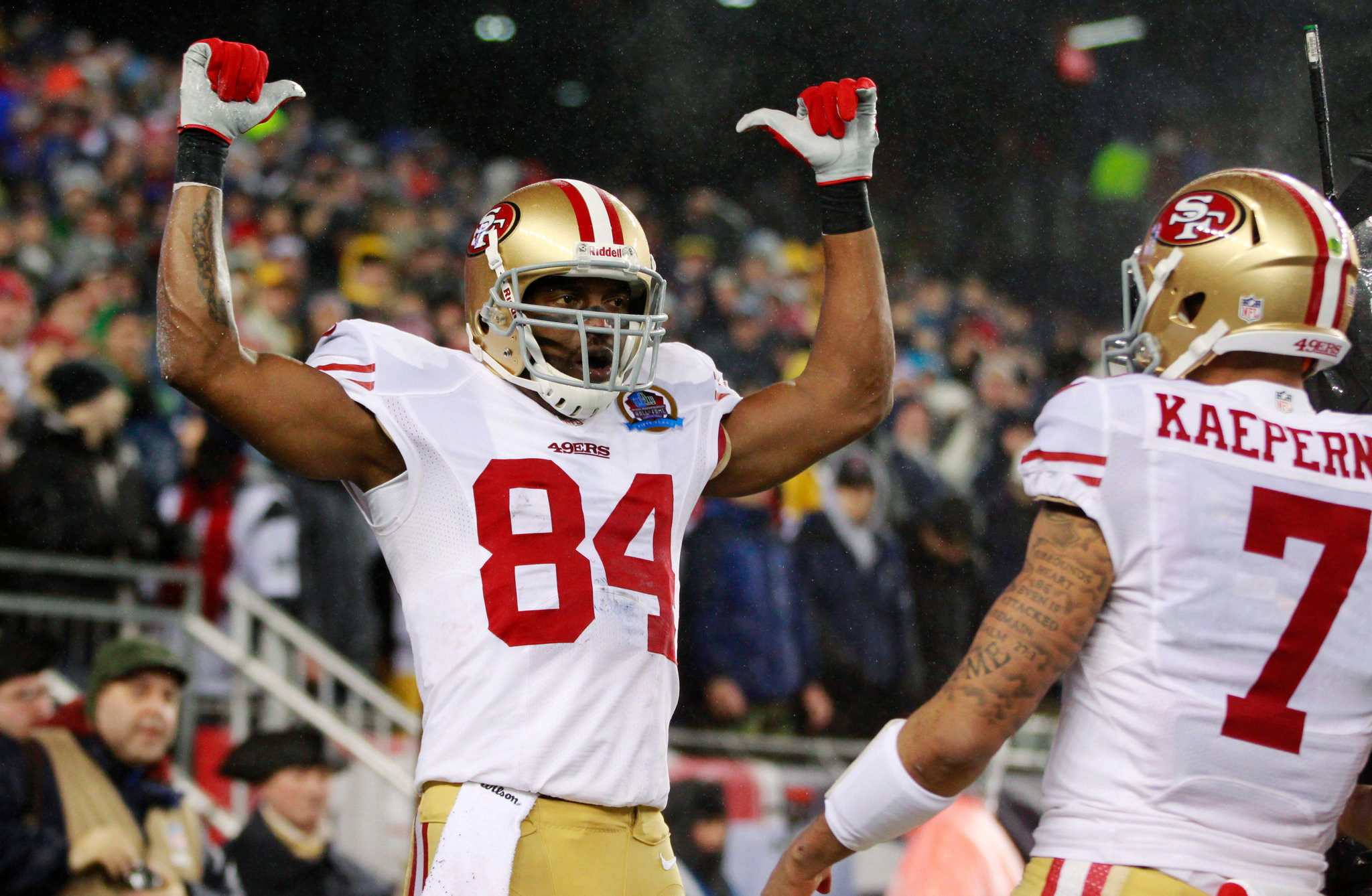Res: 2048x1338, On 49ers, Randy Moss Reinvents Himself as Role Model ... Randy Moss 49ers