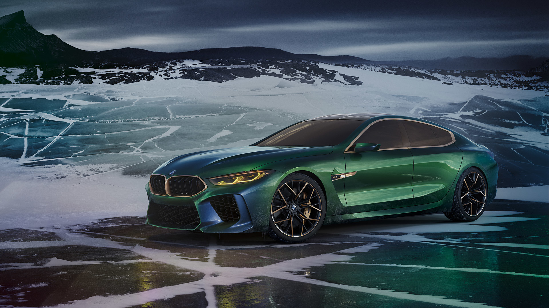 Res: 1920x1080, 2018 BMW M8 Gran Coupe Concept picture.