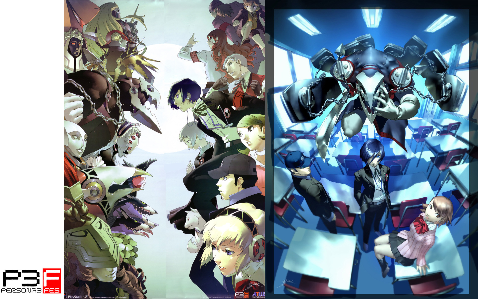 Res: 1920x1200, Persona 3 Fes Image.