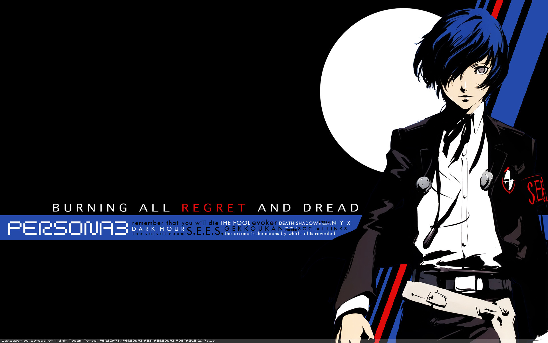 Res: 1920x1200, Persona 3 HD Wallpaper | Hintergrund |  | ID:756850 - Wallpaper  Abyss