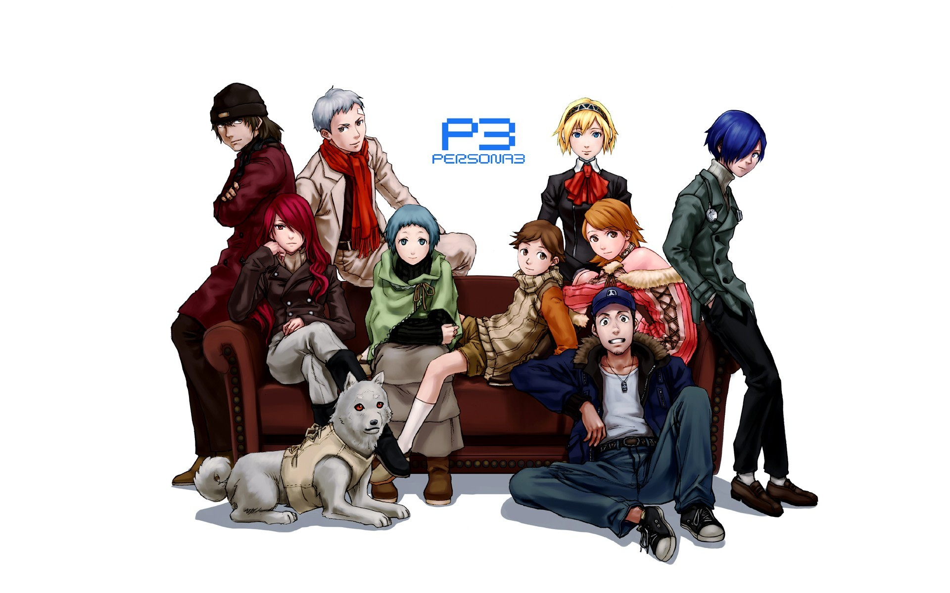 Res: 1920x1200, Persona 3