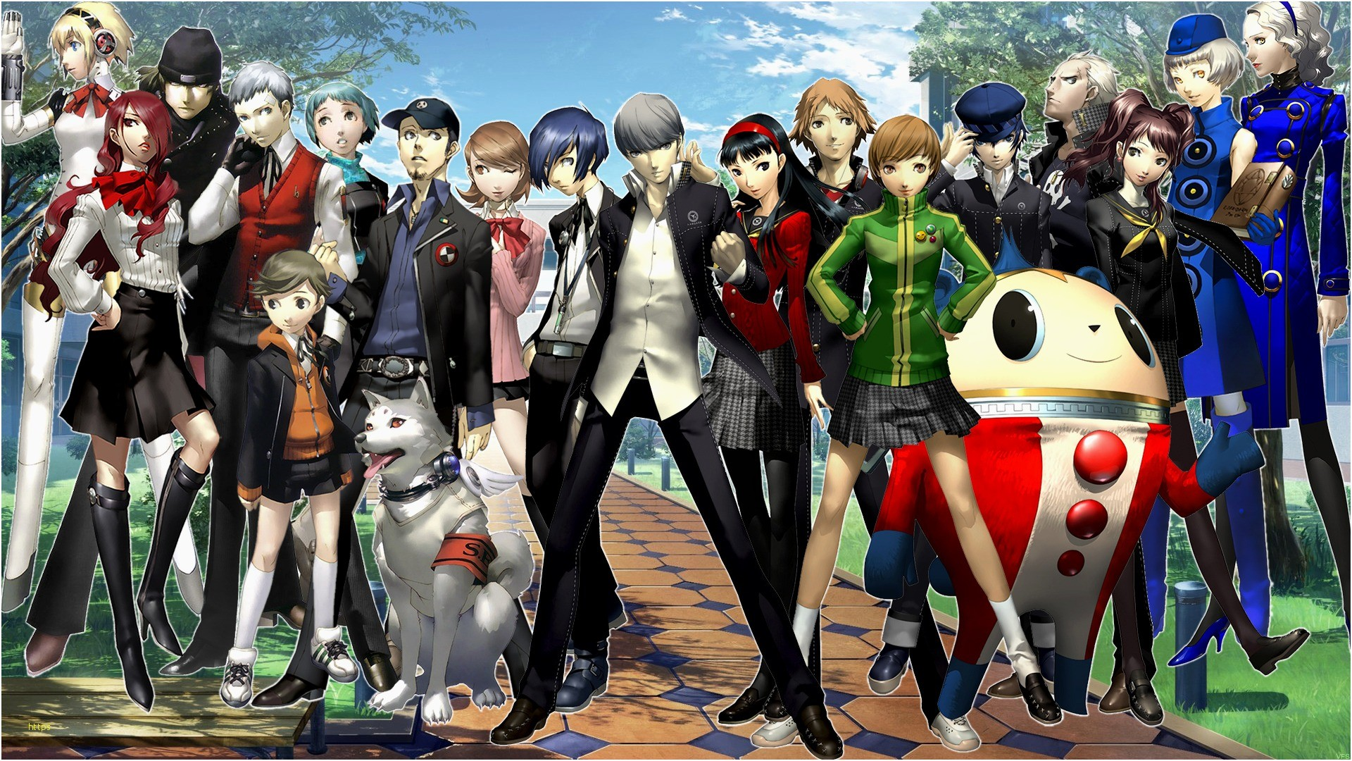 Res: 1920x1080, Persona 3 Wallpaper Unique Persona 3 4 Wallpaper by Vahnfannel On Deviantart