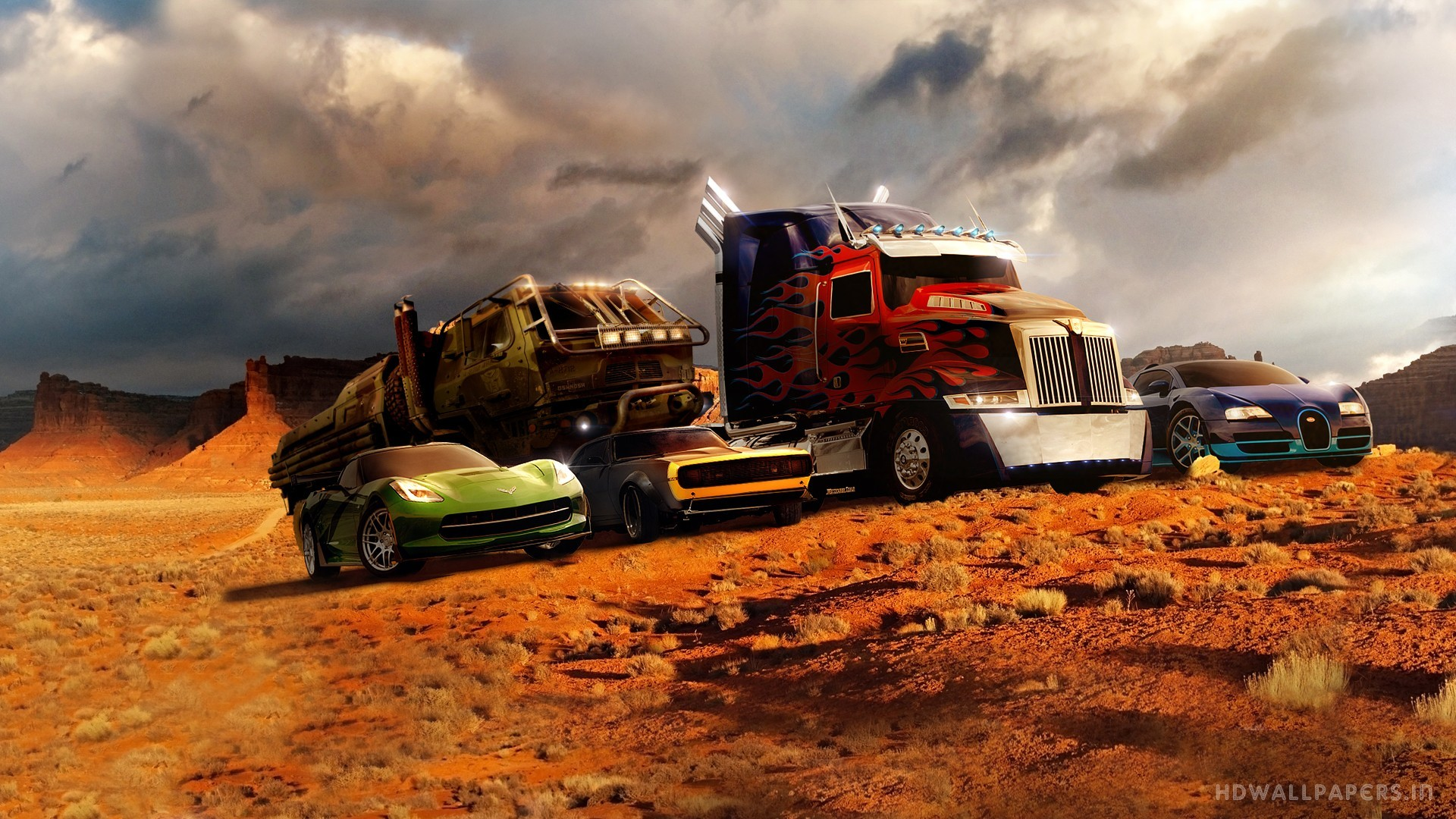 Res: 1920x1080, Transformers 4 Autobots Wallpaper
