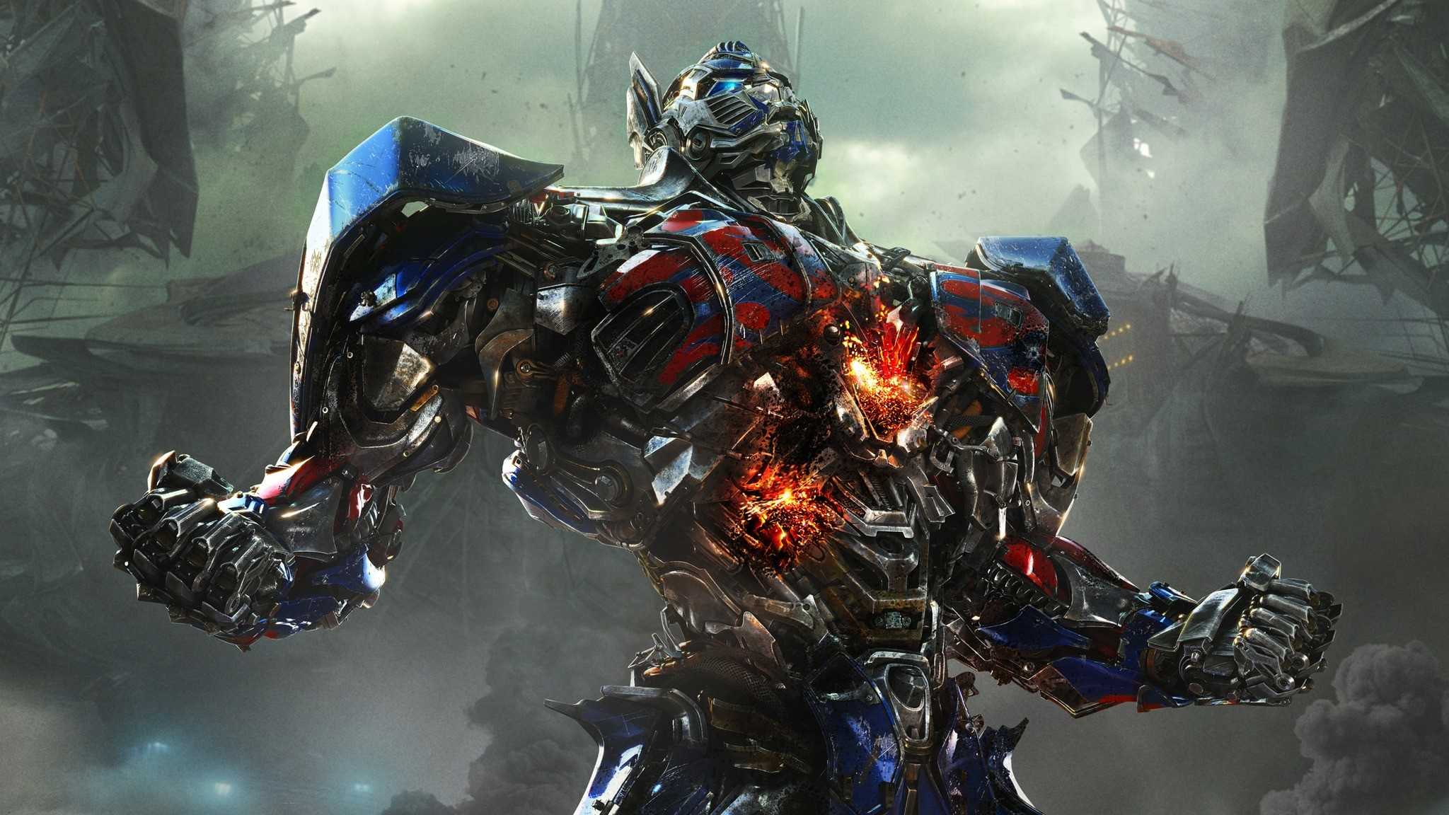 Res: 2048x1152,  Wallpaper transformers age of extinction, autobot, optimus prime