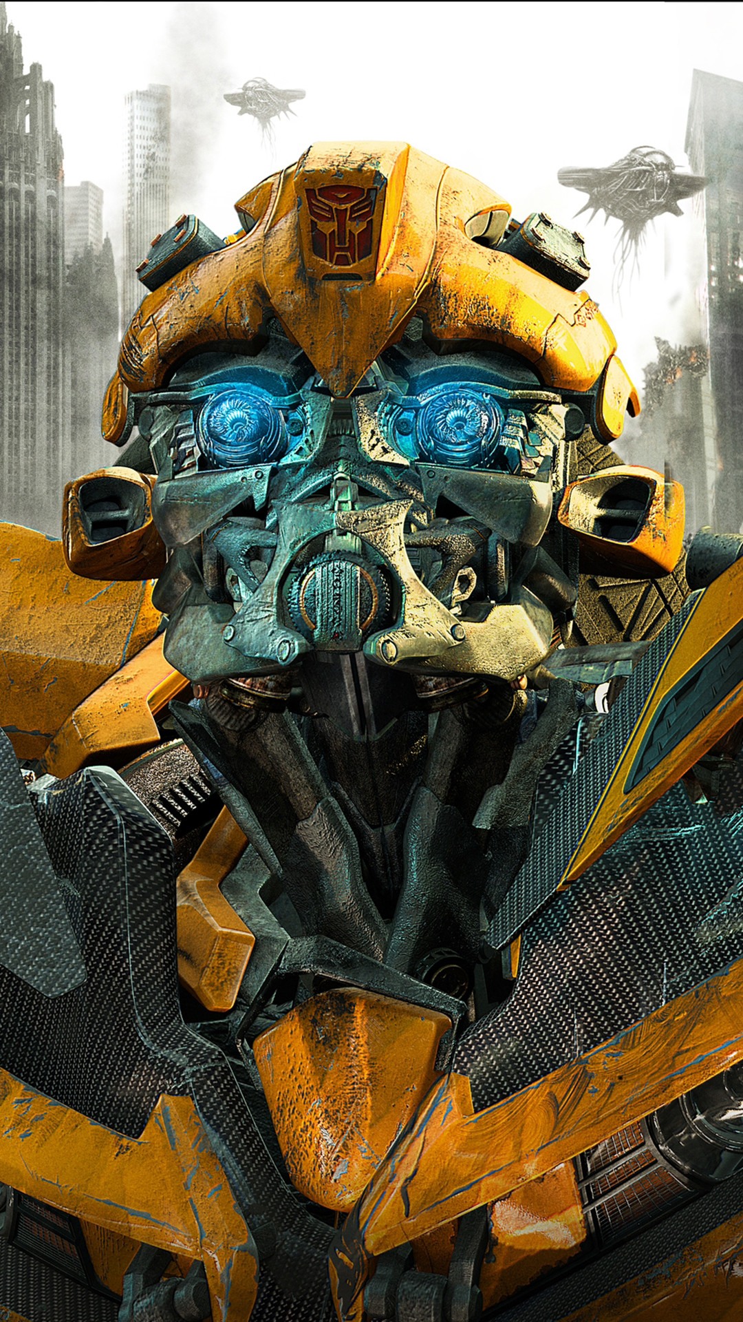 Res: 1080x1920, Transformers Autobot Bumblebee htc one wallpaper