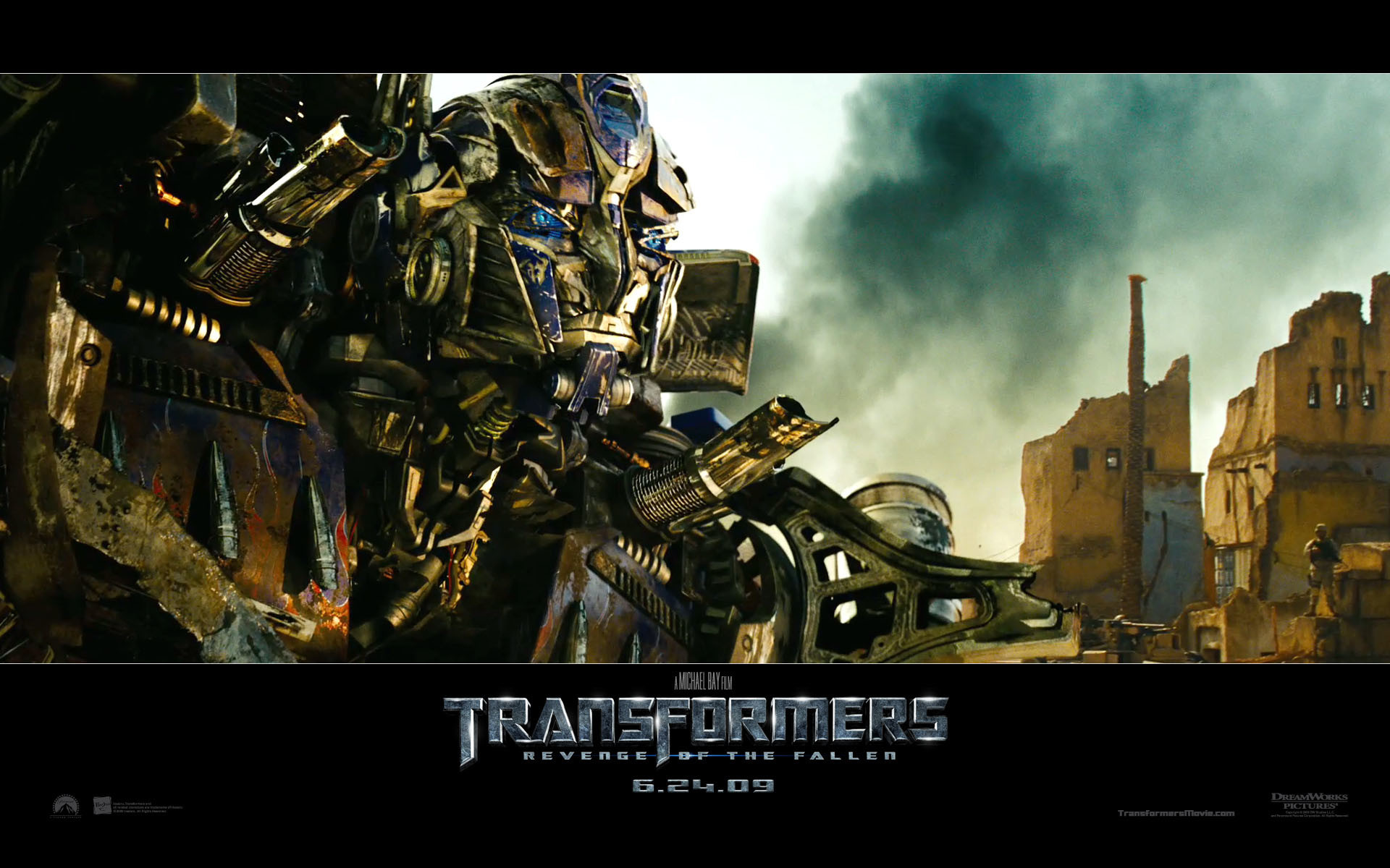 Res: 1920x1200, Optimus Prime (Autobot) from Transformers Revenge of the Fallen movie HD  Wallpaper