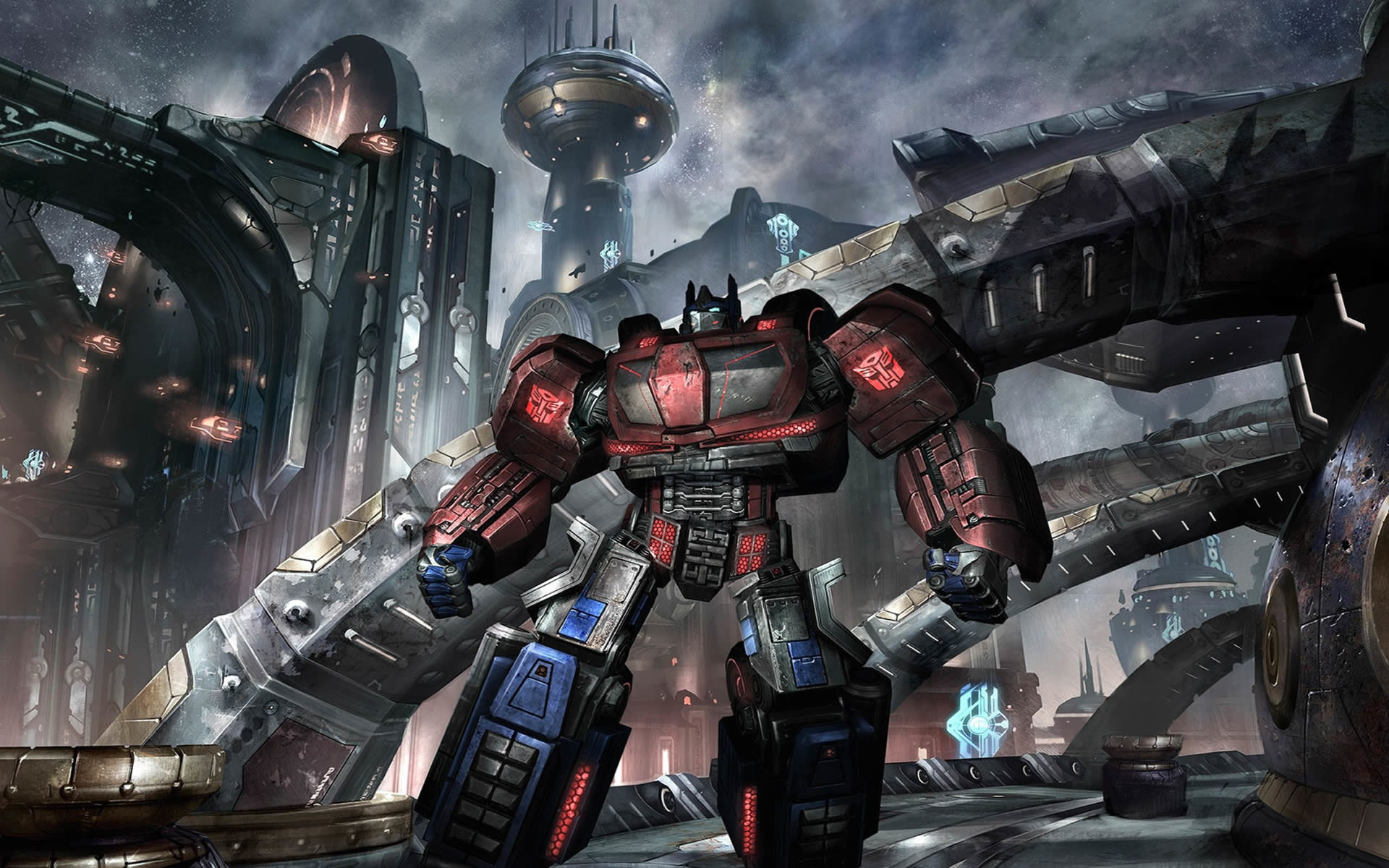 Res: 1920x1200, previous transformers war for cybertron wallpaper. Autobot In The City
