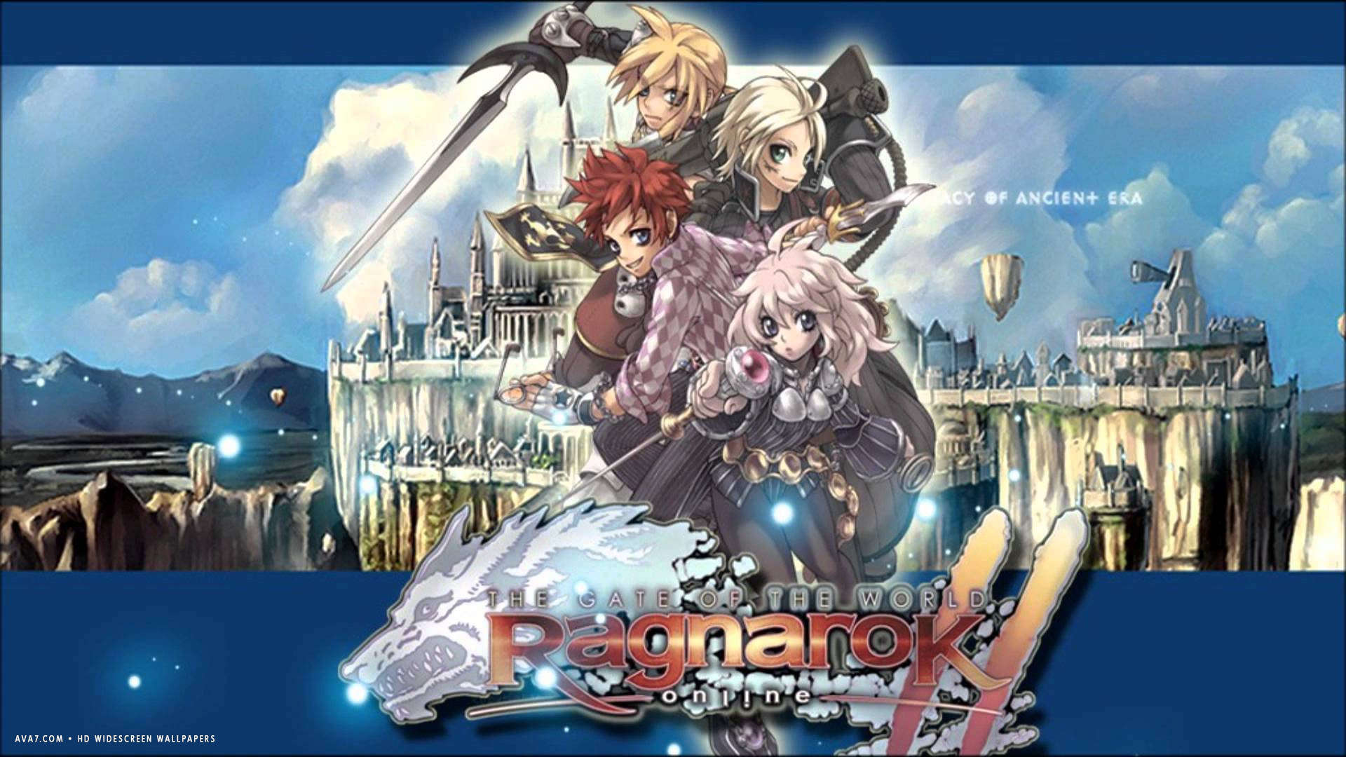 Res: 1920x1080, ragnarok online 2 the gate of the world game hd widescreen wallpaper