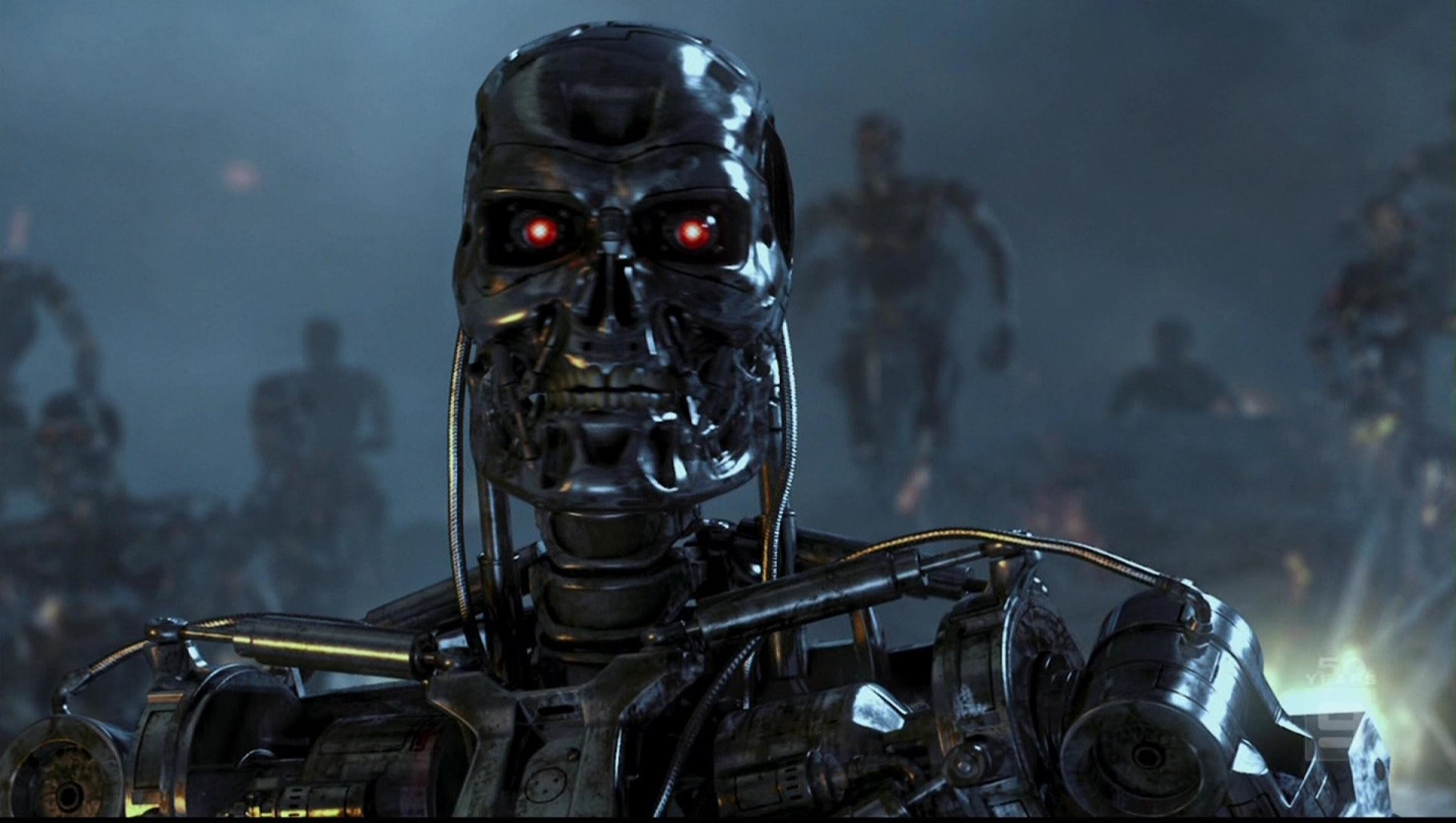 """Res: 2552x1442, Wallpaper for """"Terminator 2: Judgment Day"""" ..."""