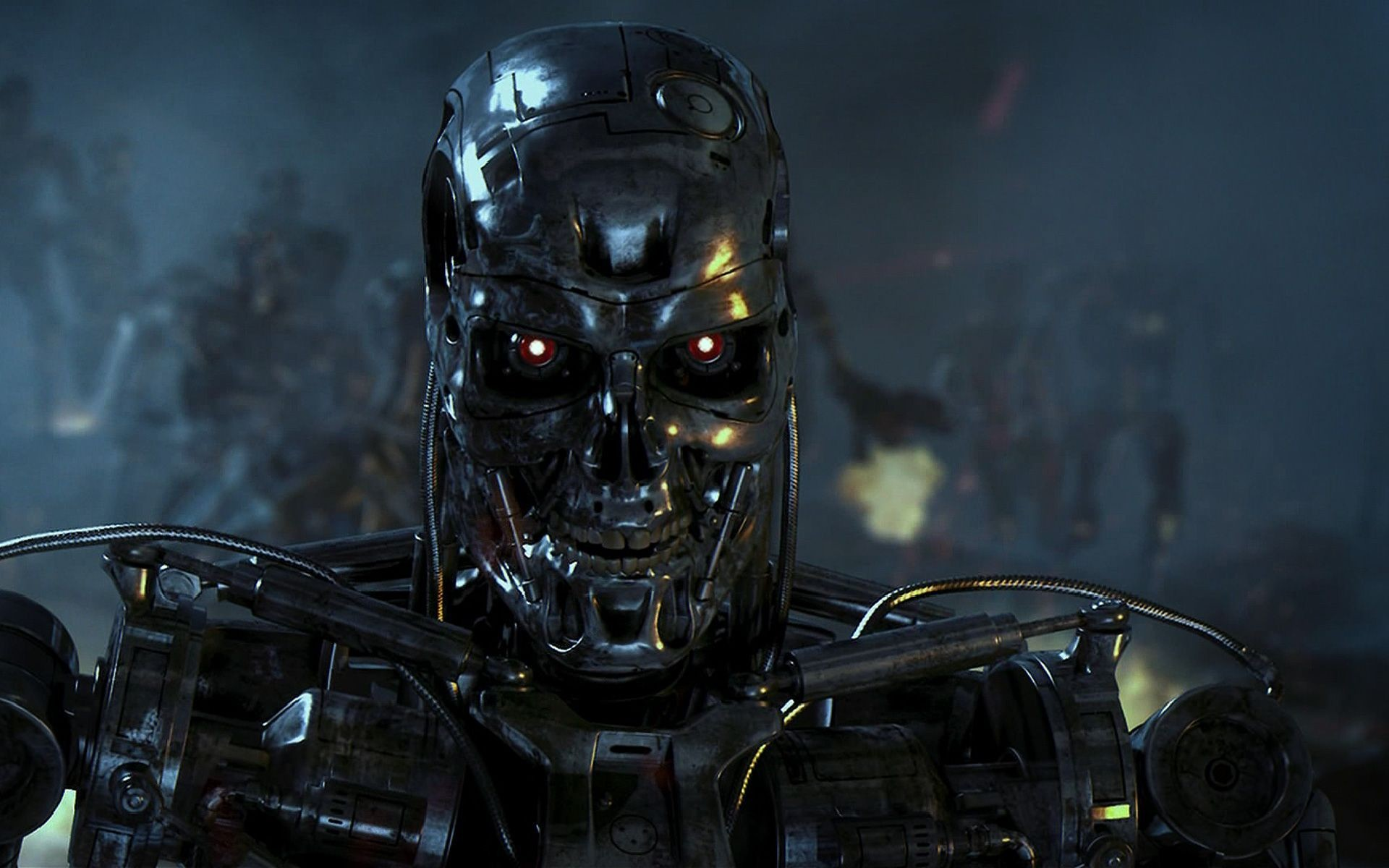 Res: 1920x1200, 45 Terminator 2: Judgment Day HD Wallpapers | Backgrounds .