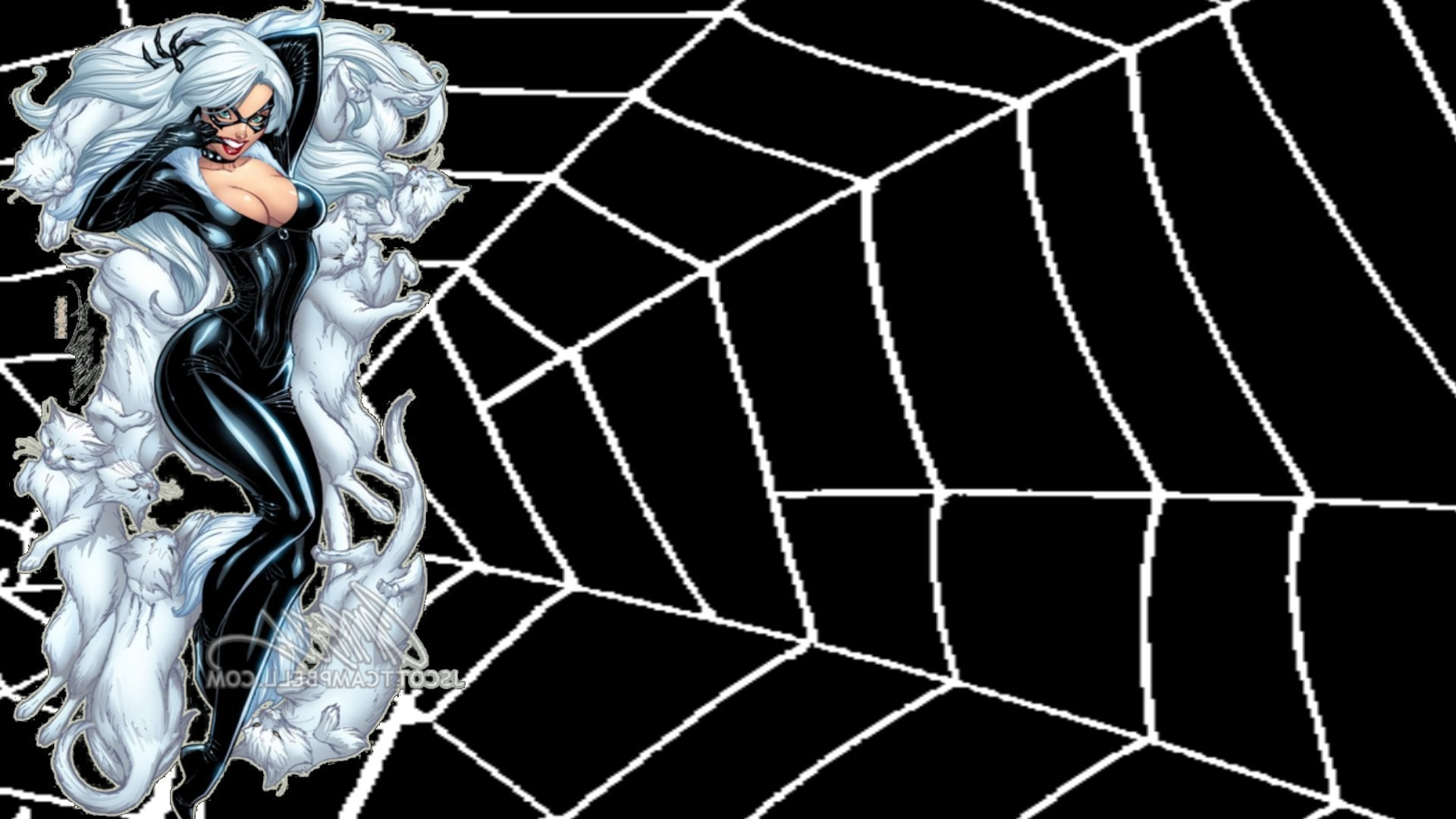 Res: 1920x1080, comics, Spider Man, Black Cat (character), Felicia Hardy Wallpapers HD /  Desktop and Mobile Backgrounds