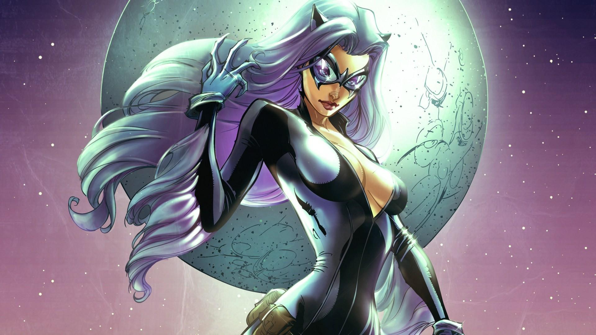 Res: 1920x1080, Marvel Felicia Hardy Black Cat (Marvel) 1080p HD Wallpaper Background