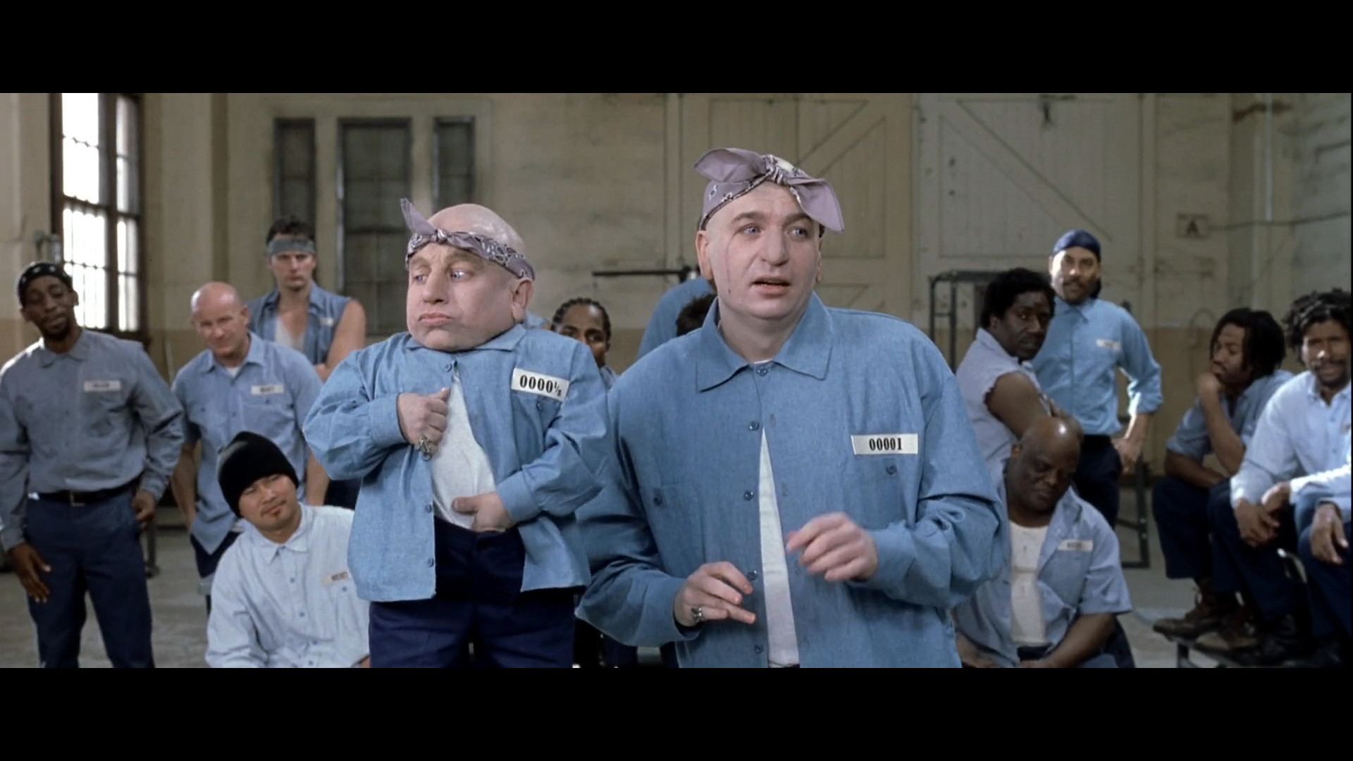 Res: 1920x1080, Dr. Evil's number in prison is 1, while Mini-Me's number is ½ [Austin Powers  Goldmember] ...