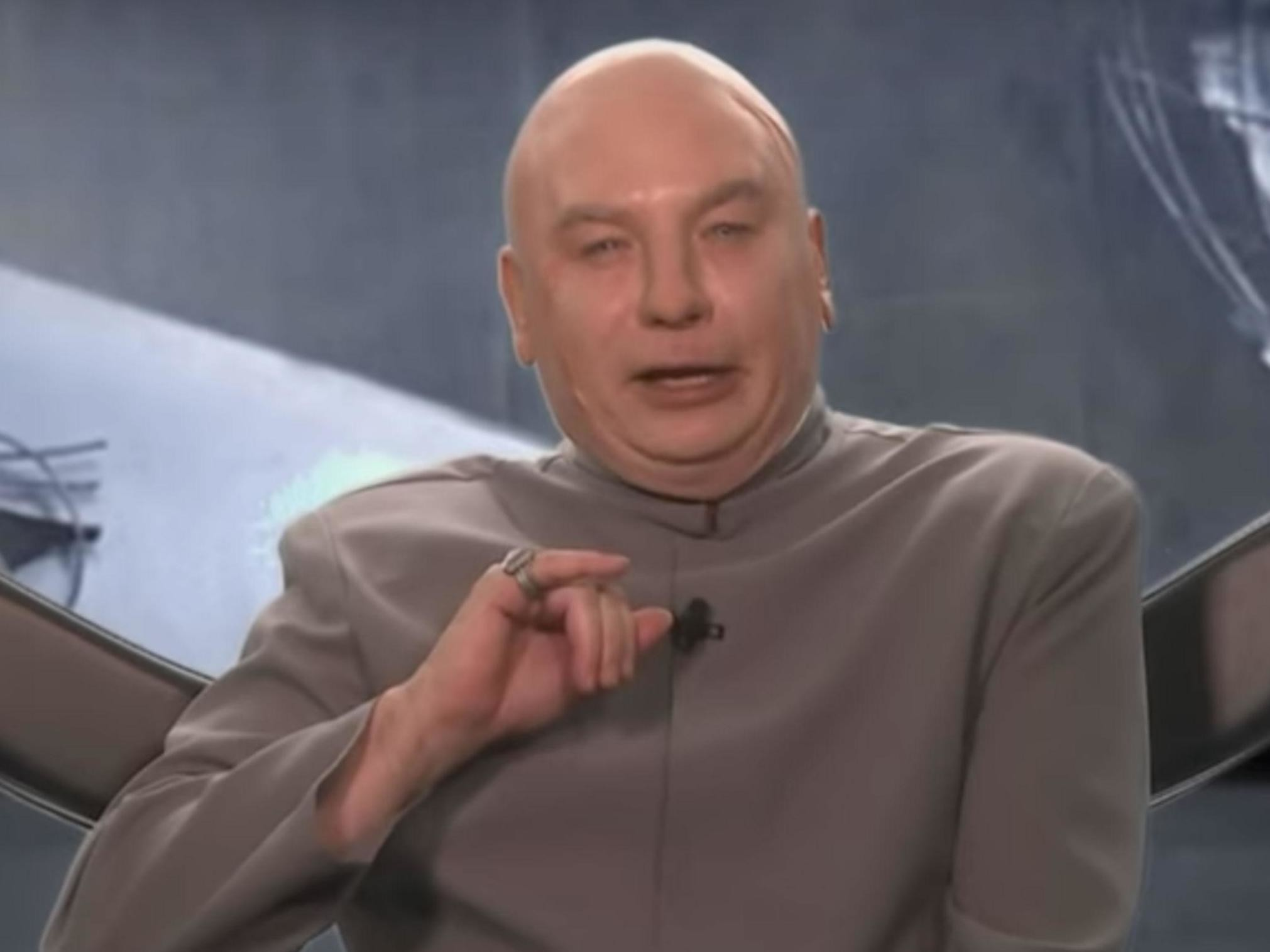 Res: 2021x1515, Mike Myers returns as Dr Evil to announce run for US Congress. '