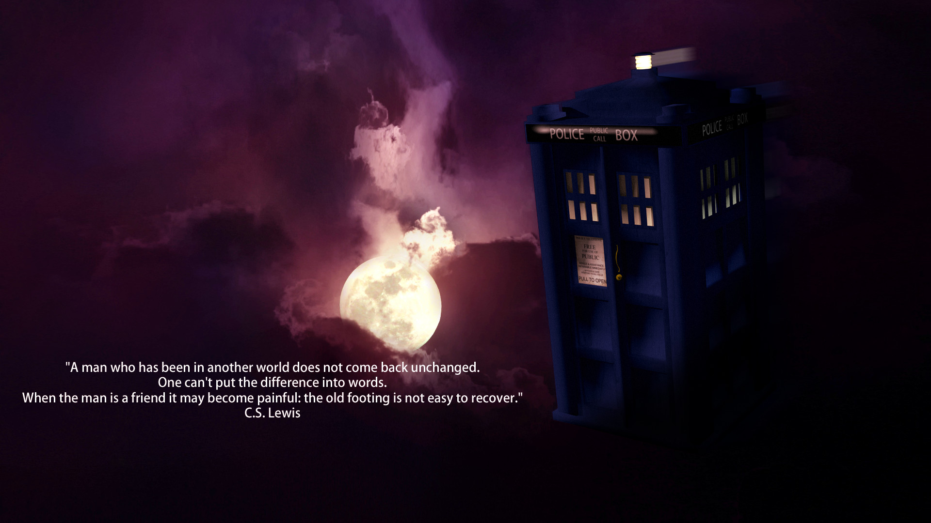 Res: 1920x1080, doctor wallpaper policeman evil night sky tardis