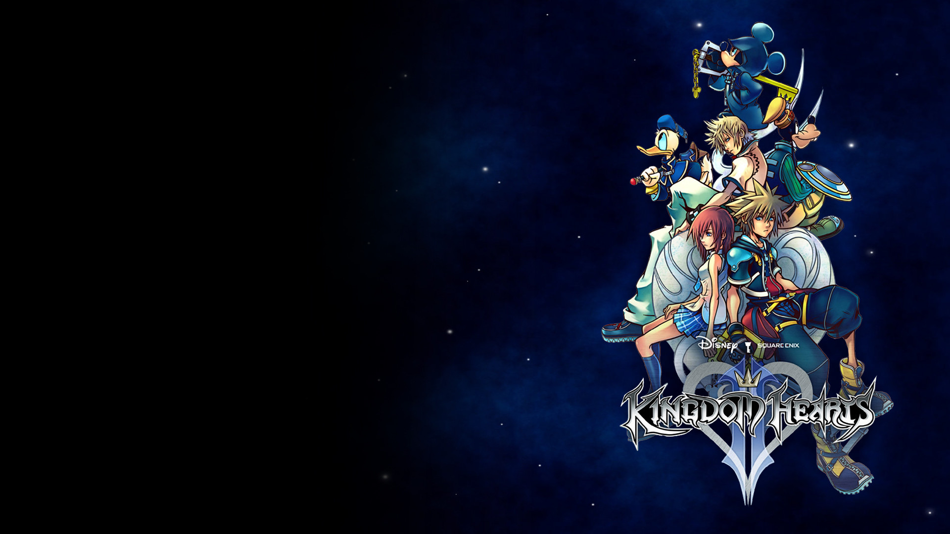 Res: 1920x1080, Kingdom Hearts II Wallpaper