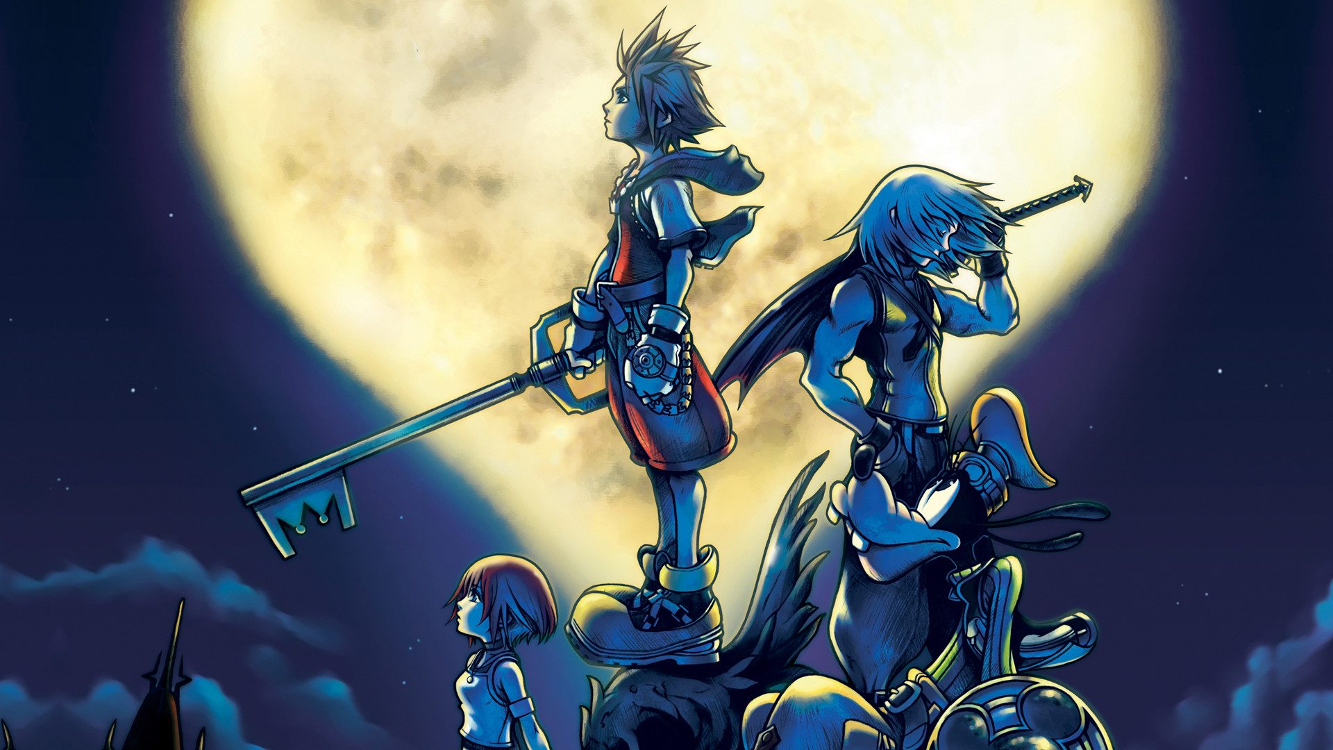 Res: 1920x1080, hd wallpaper Kingdom Hearts Wallpaper HD