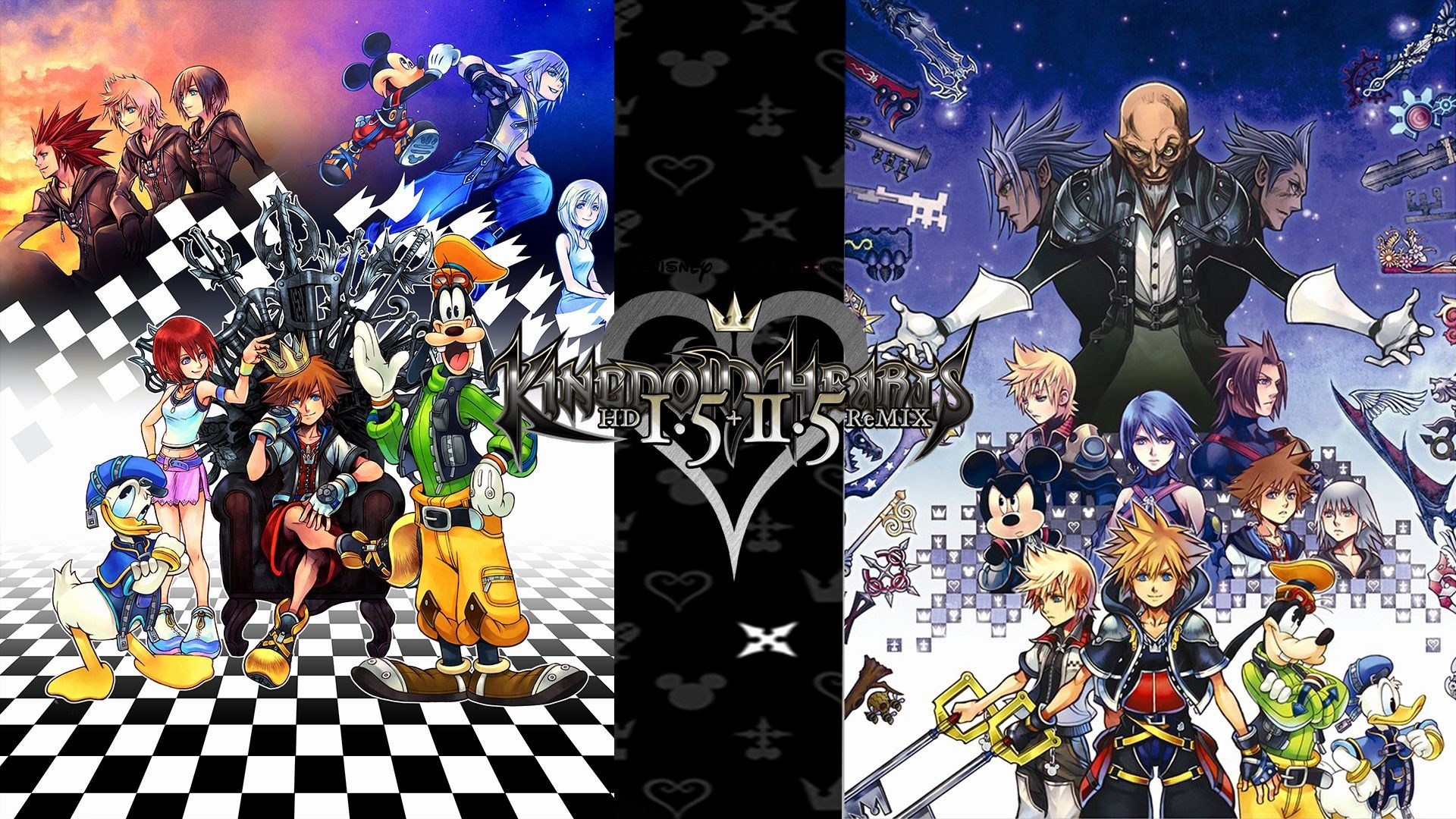 Res: 1920x1080,  Kingdom Hearts Wallpaper Best Of Kingdom Hearts 1 5 2 5 Hd Remix