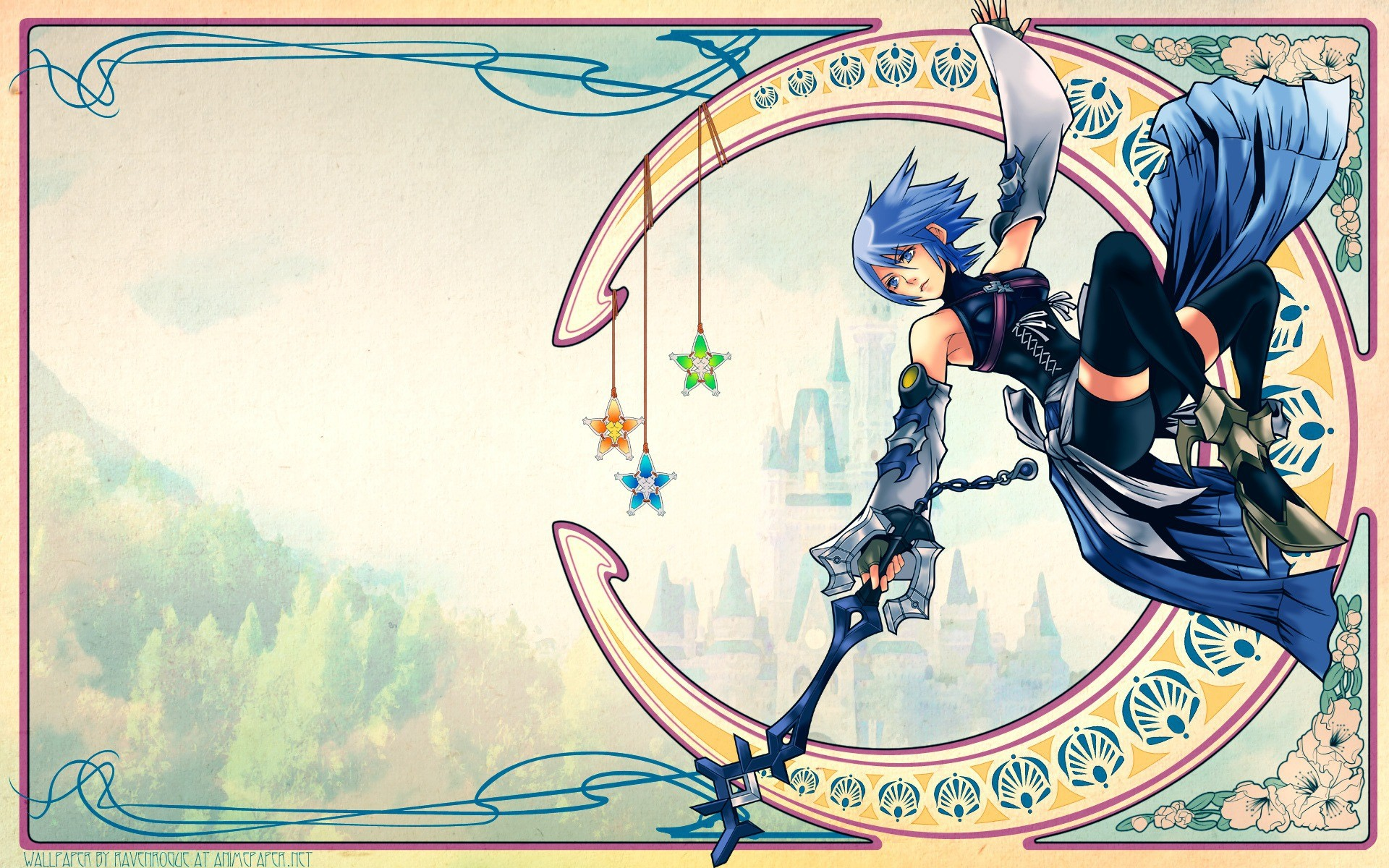 Res: 1920x1200, Aqua (Kingdom Hearts) · download Aqua (Kingdom Hearts) image